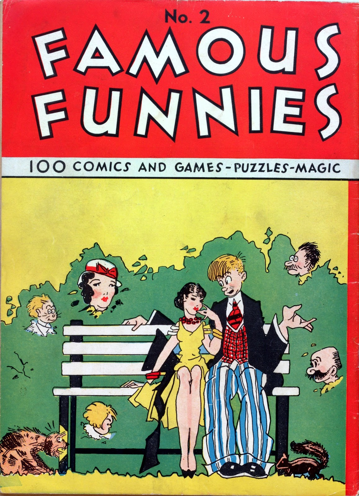 Read online Famous Funnies comic -  Issue #2 - 68