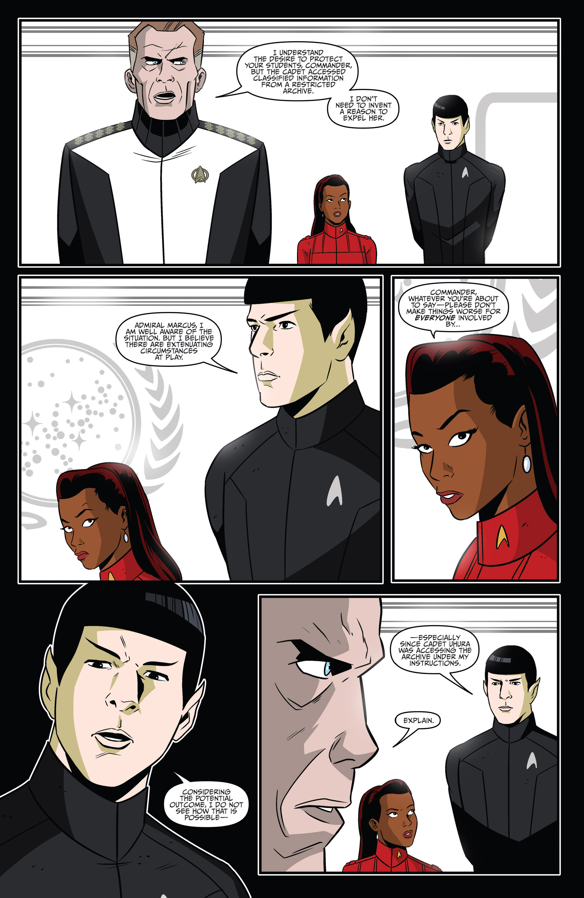 Star Trek: Starfleet Academy (2015) #4 - Read Star Trek