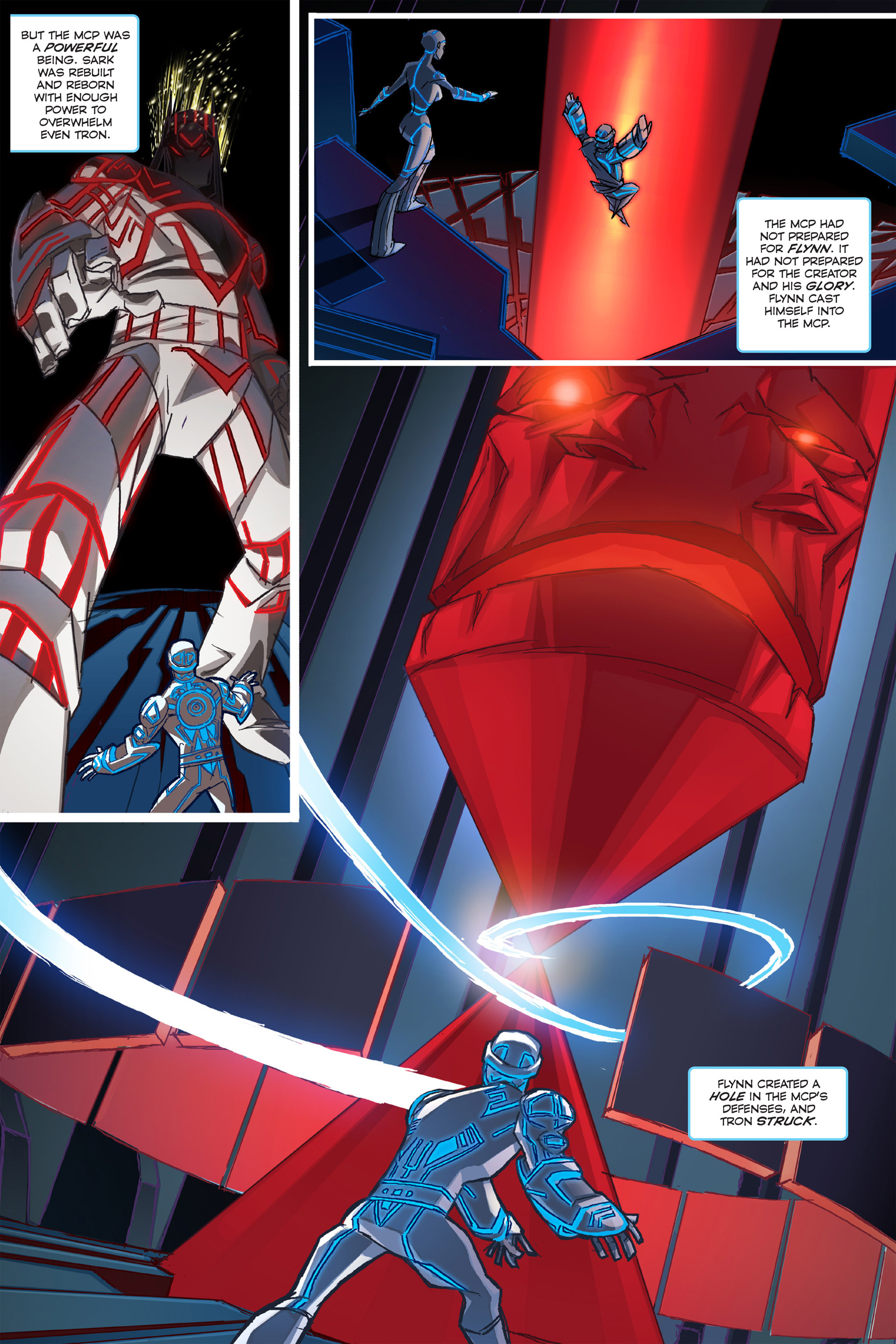 Read online TRON: Betrayal comic -  Issue # TPB - 11