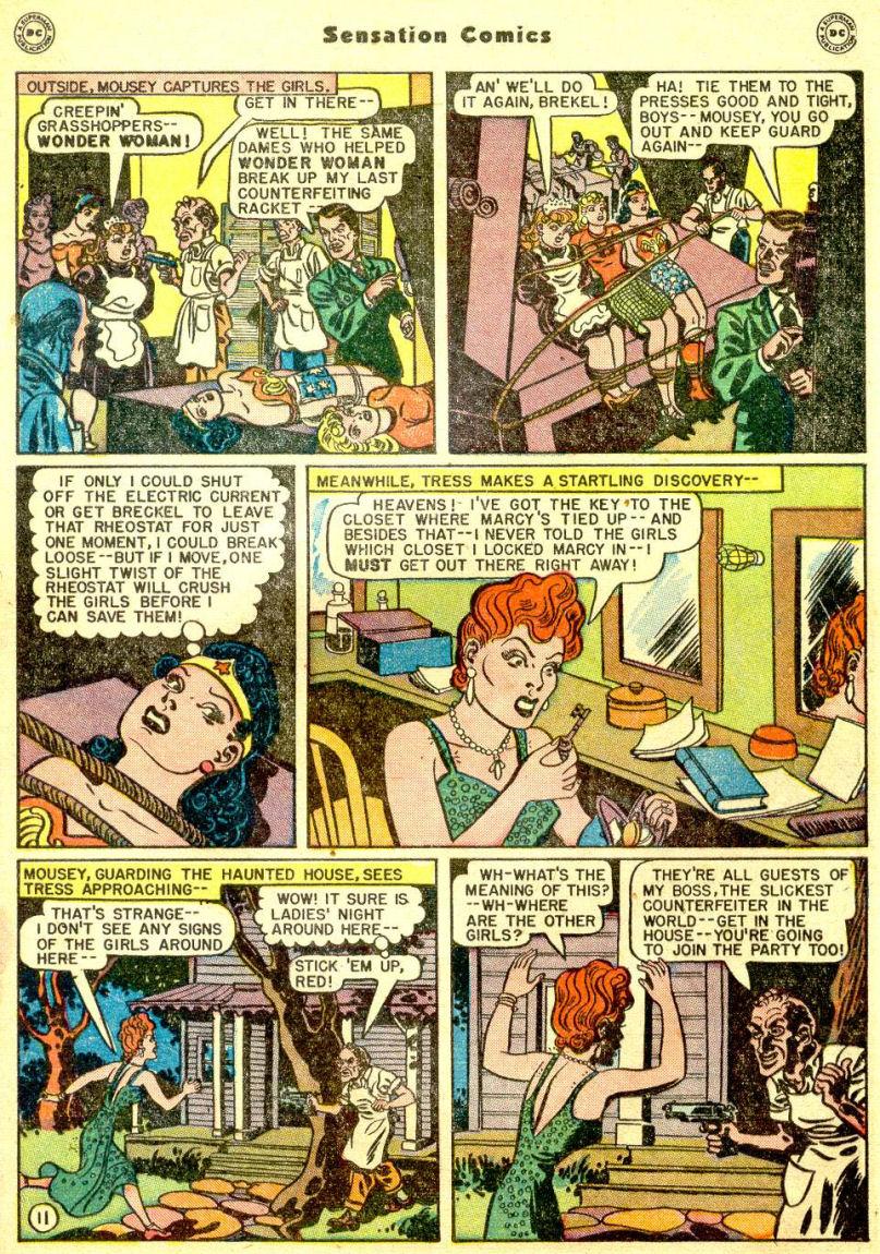 Read online Sensation (Mystery) Comics comic -  Issue #77 - 13