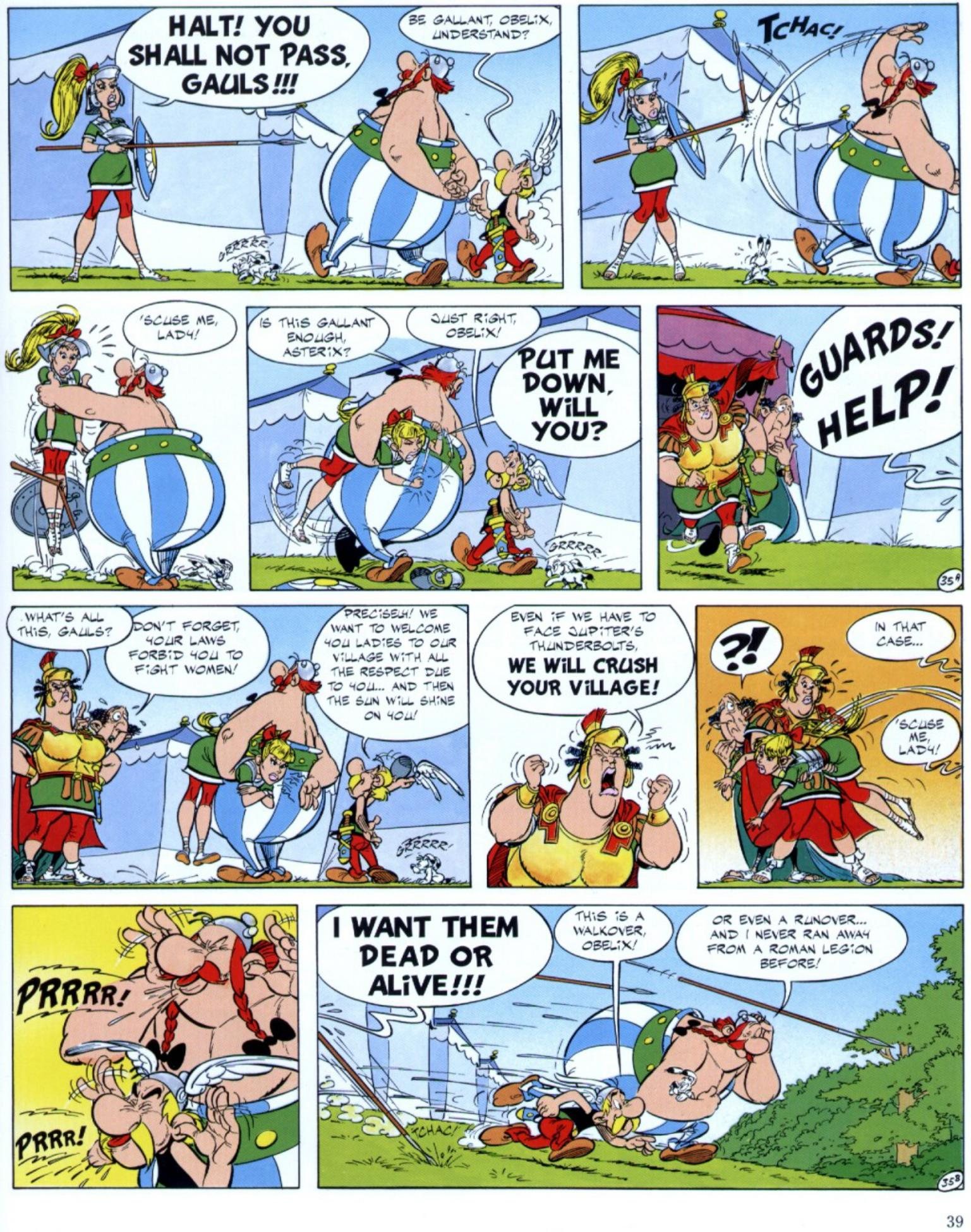 Read online Asterix comic -  Issue #29 - 37