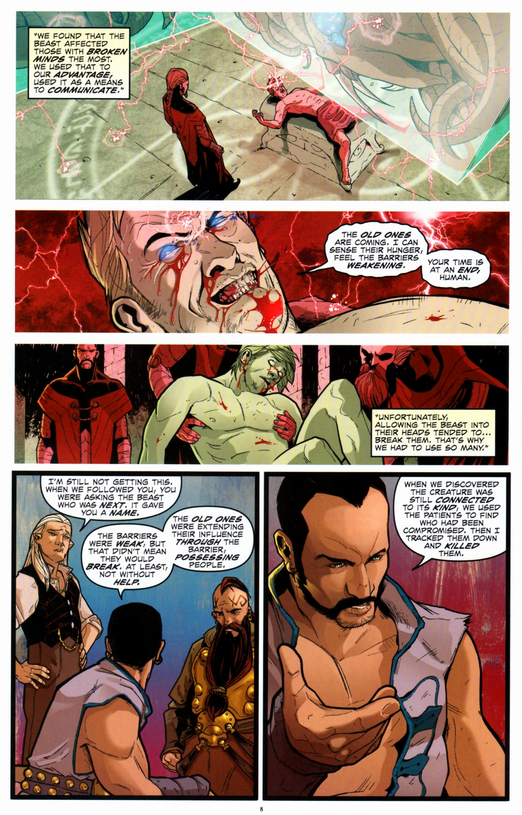 Read online Infestation 2: Dungeons & Dragons comic -  Issue #2 - 10
