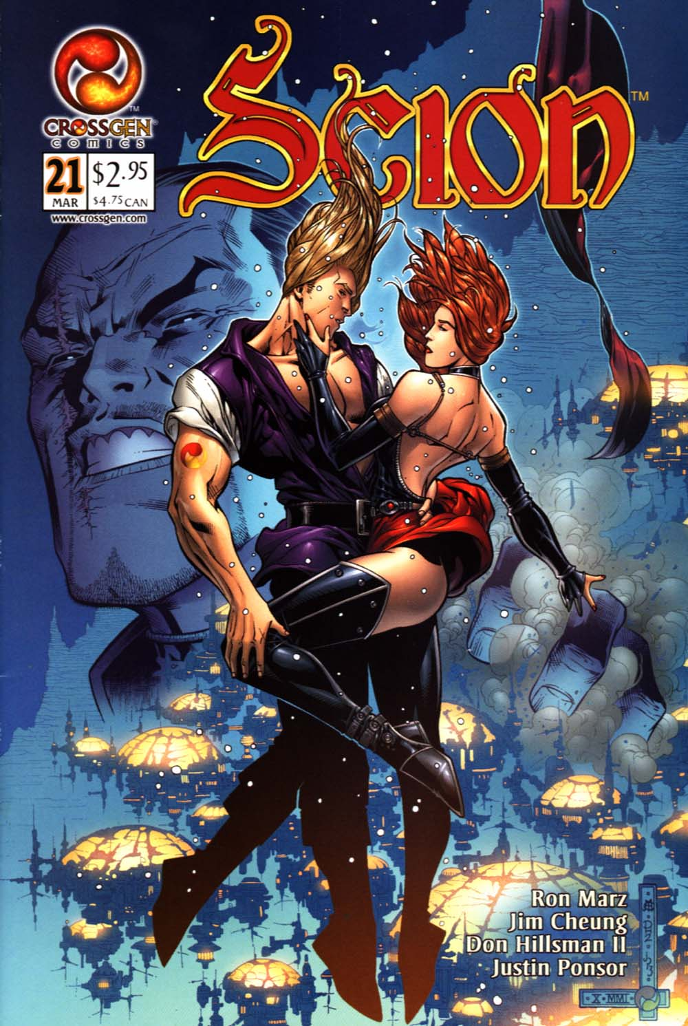 Read online Scion comic -  Issue #21 - 1