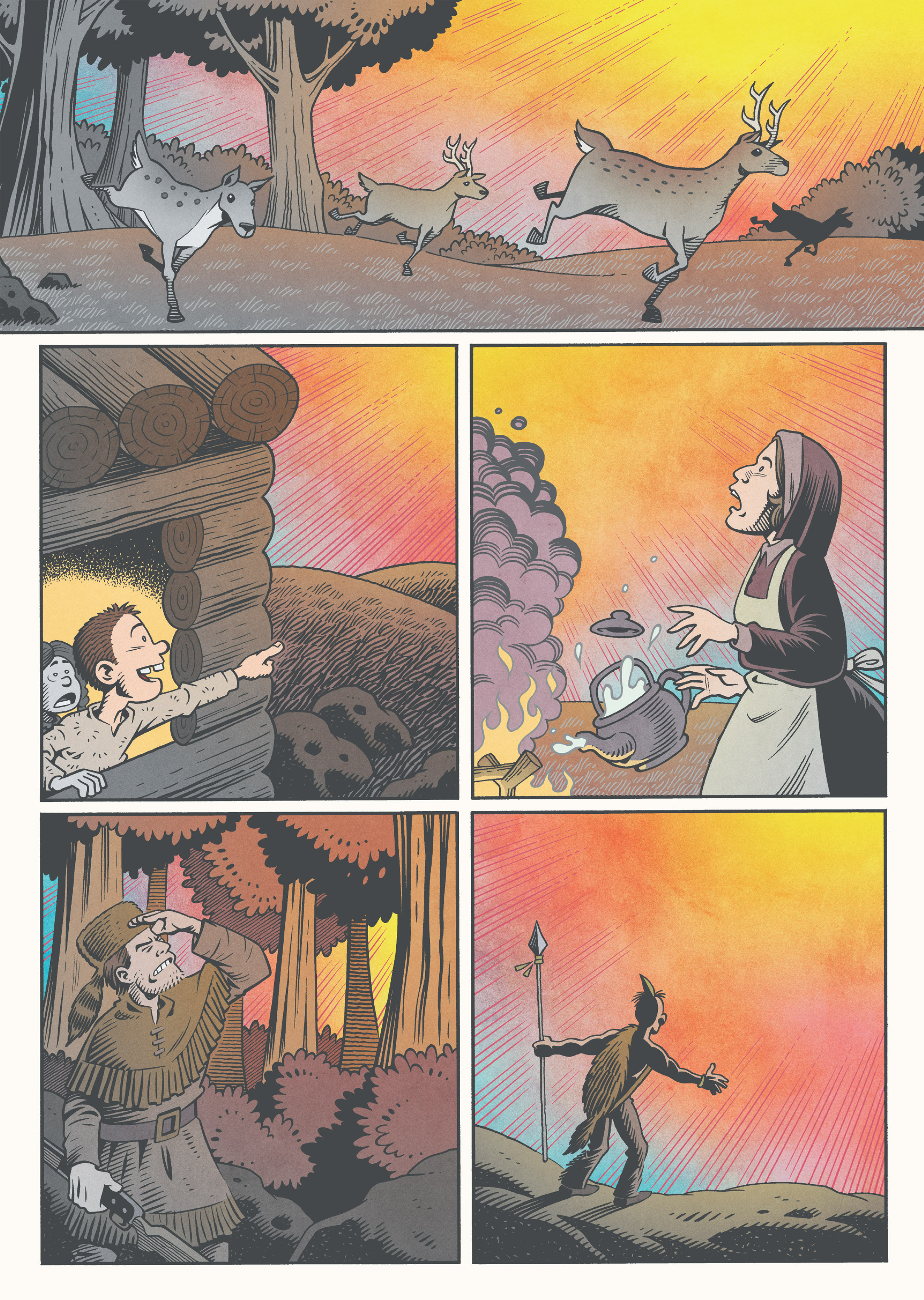 Read online Jim Henson's The Musical Monsters of Turkey Hollow comic -  Issue # Full - 10