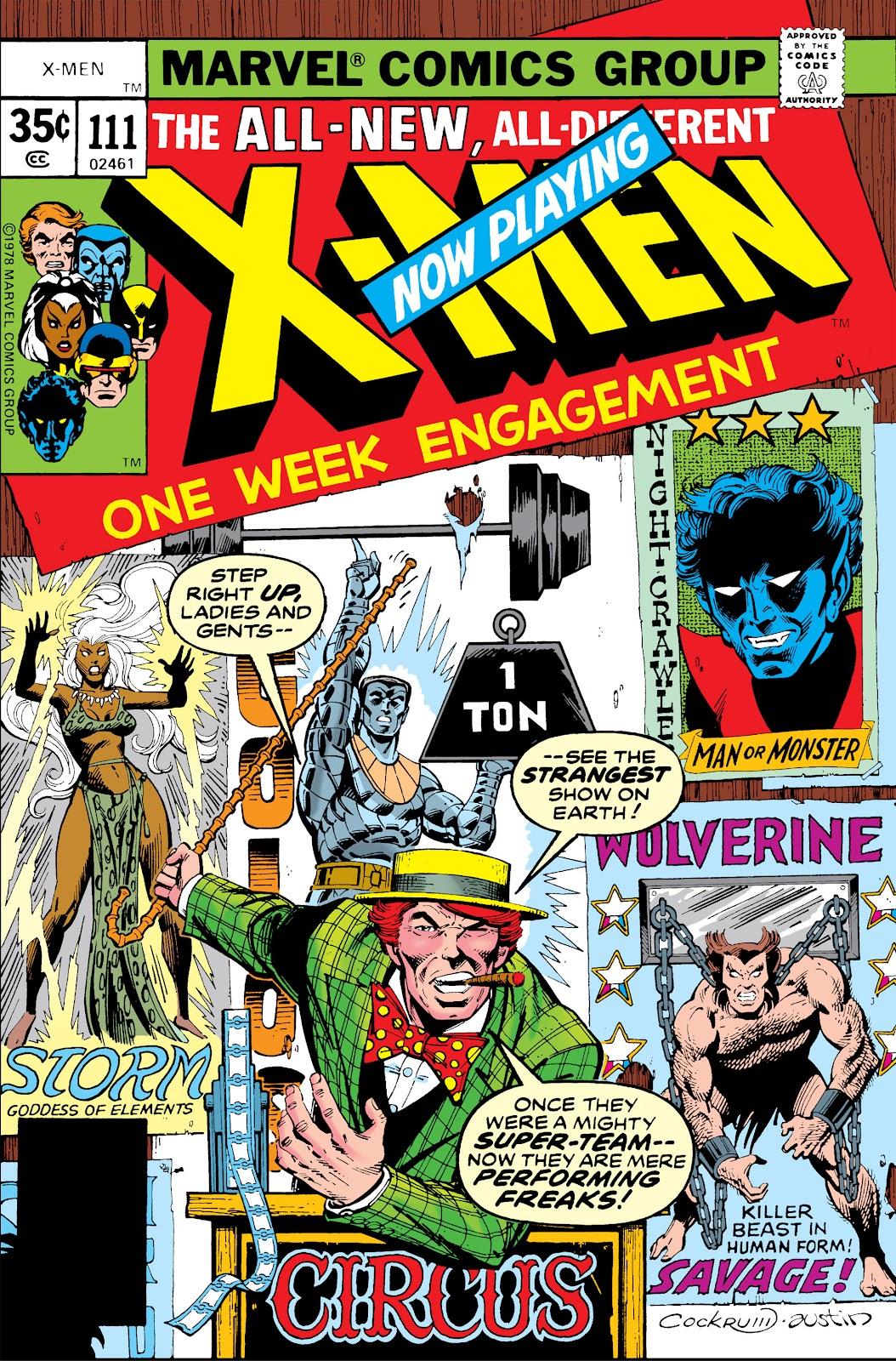 Uncanny X-Men (1963) issue 111 - Page 1