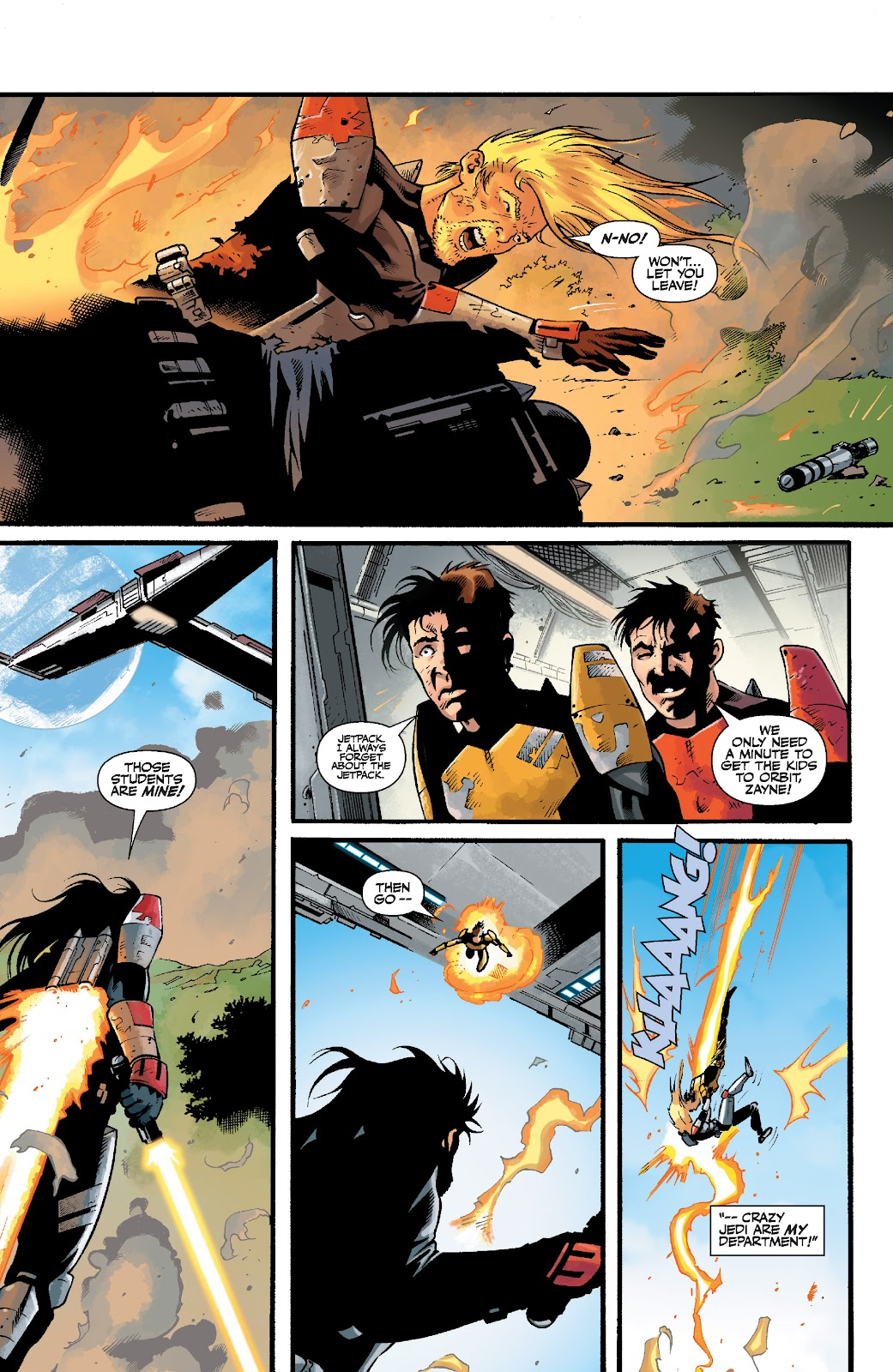 Read online Star Wars Legends: The Old Republic - Epic Collection comic -  Issue # TPB 3 (Part 5) - 8