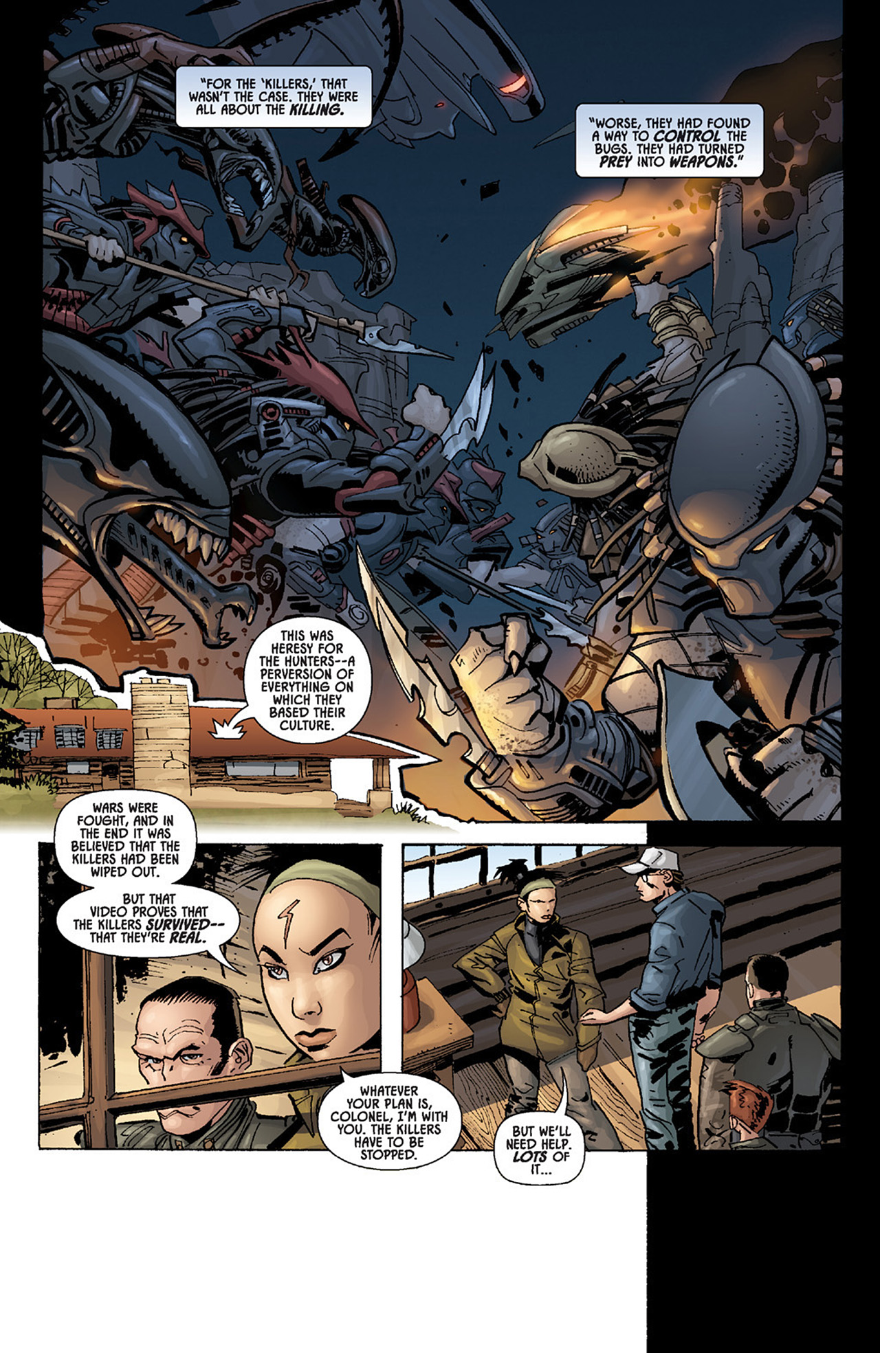 Read online Aliens vs. Predator: Three World War comic -  Issue #1 - 25