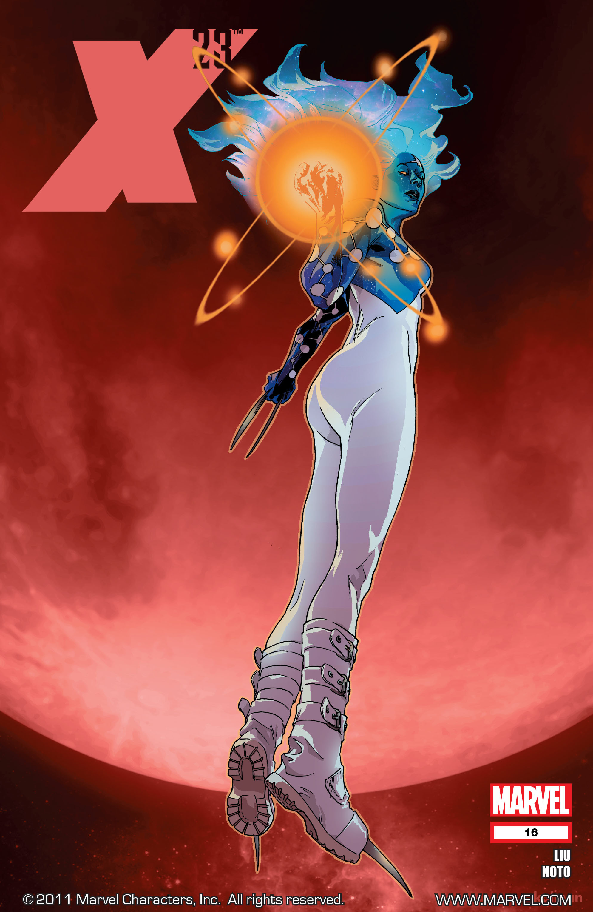 Read online X-23 (2010) comic -  Issue #16 - 1