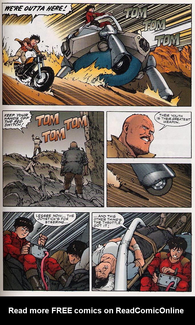 Read online Akira comic -  Issue #26 - 42