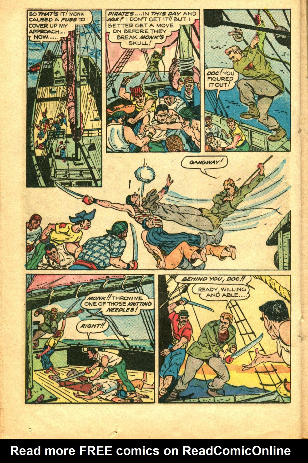 Read online Shadow Comics comic -  Issue #78 - 28