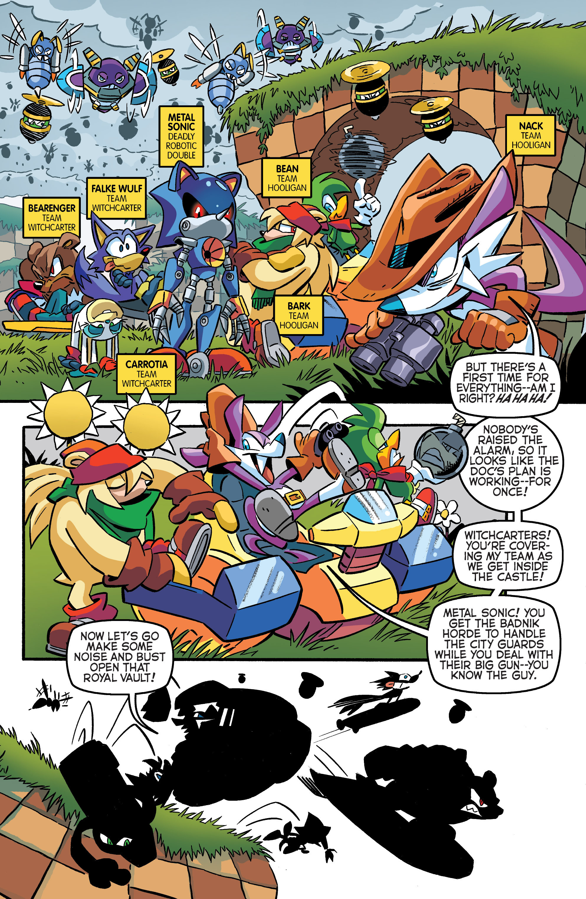 Read online Sonic The Hedgehog comic -  Issue #284 - 8