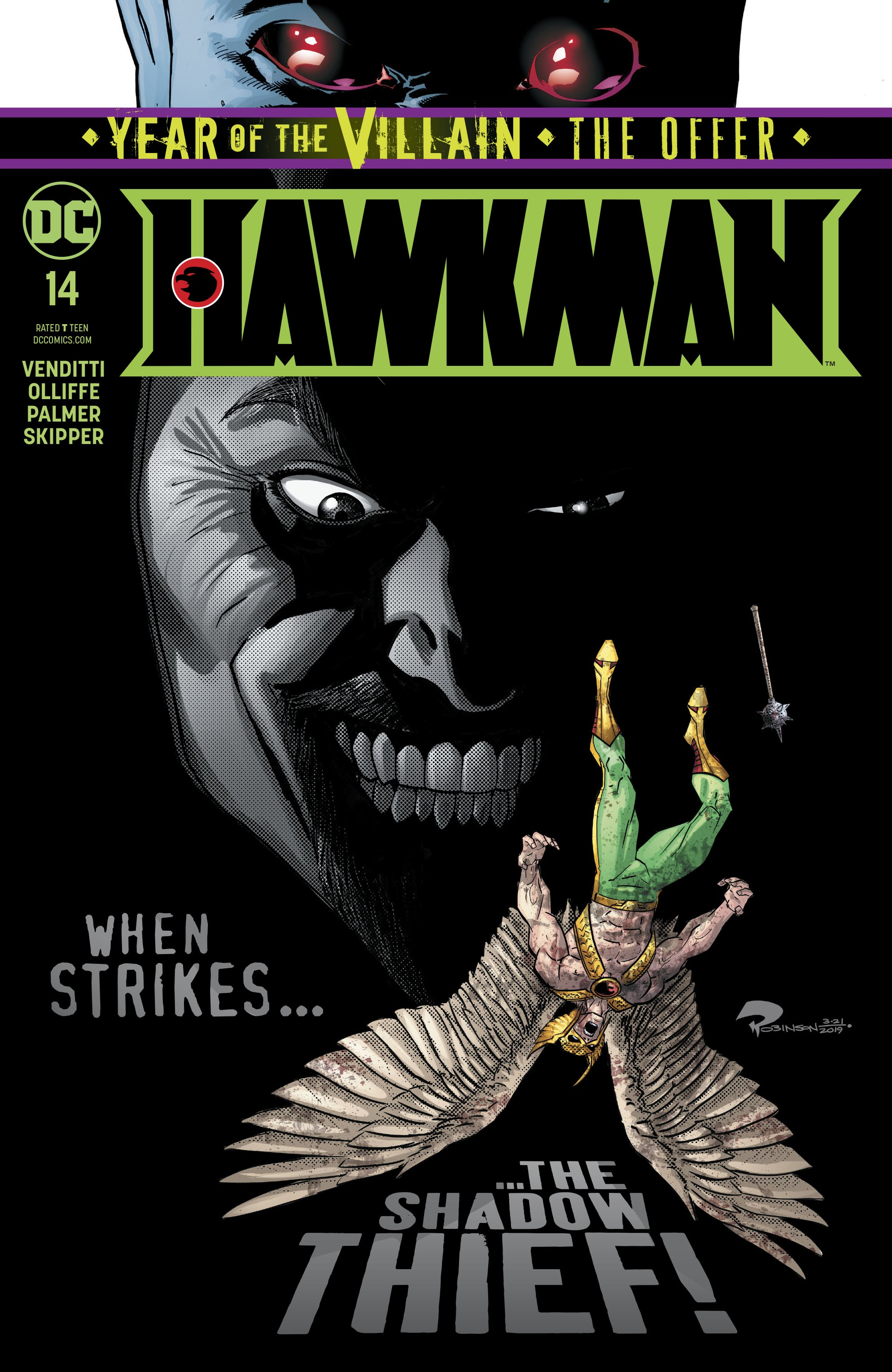 Hawkman (2018) 14 Page 1