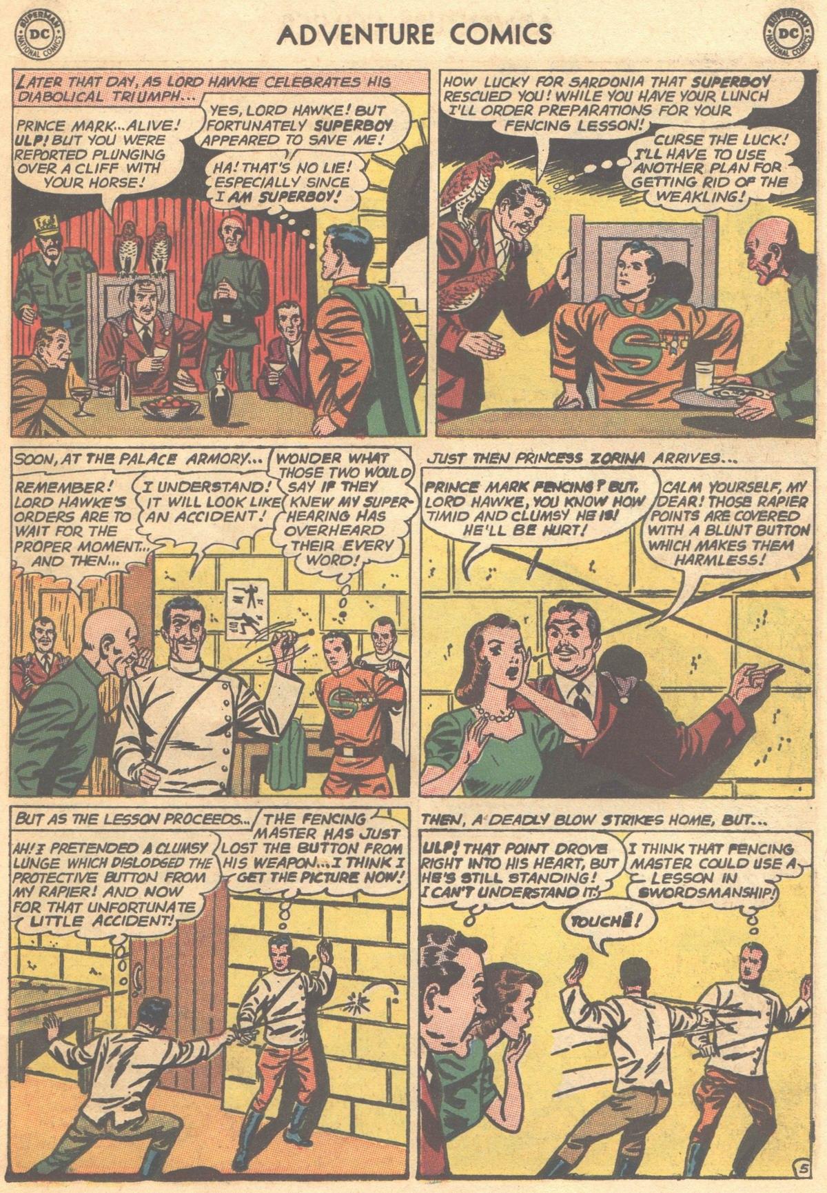 Read online Adventure Comics (1938) comic -  Issue #303 - 7