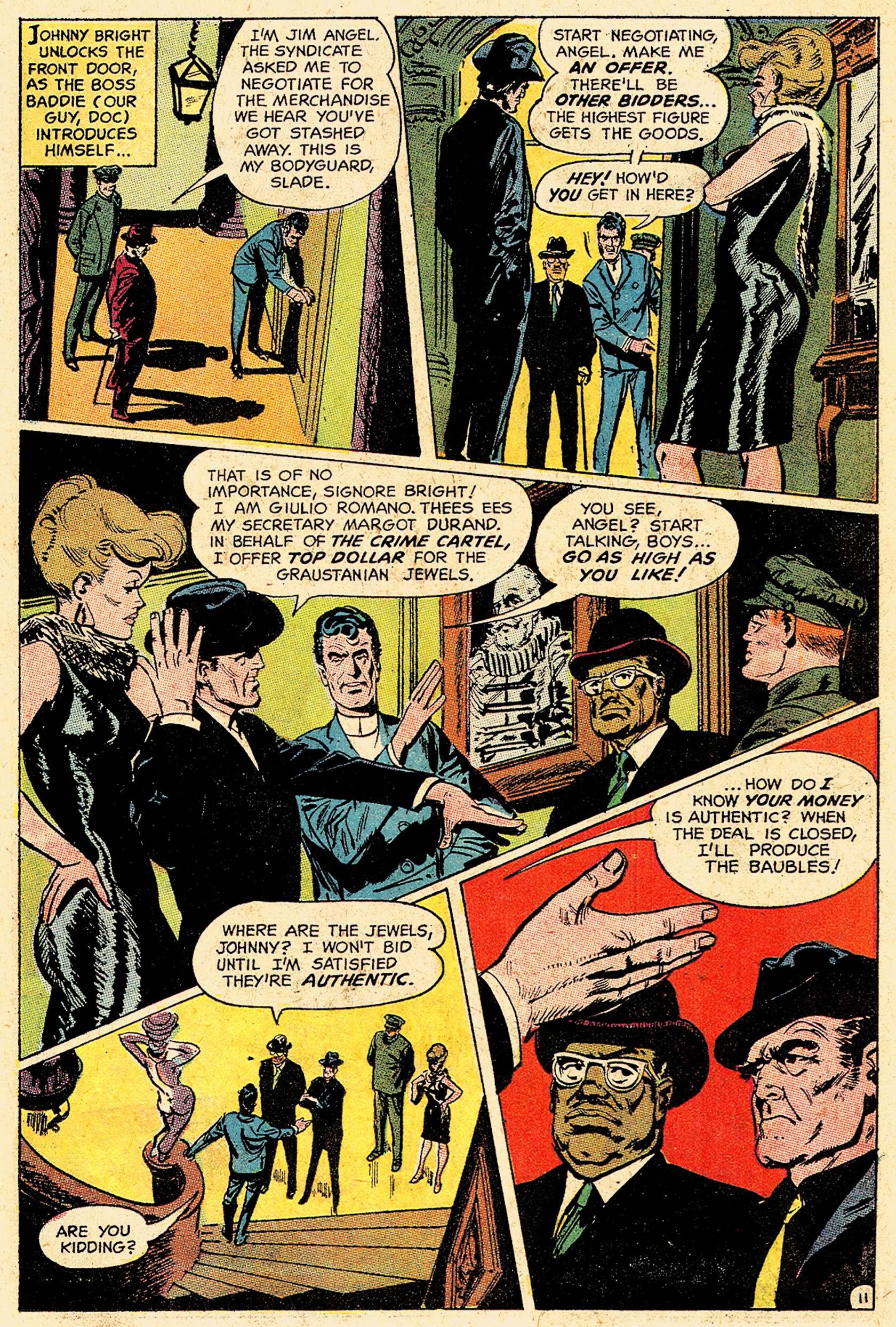 Read online Secret Six (1968) comic -  Issue #5 - 15