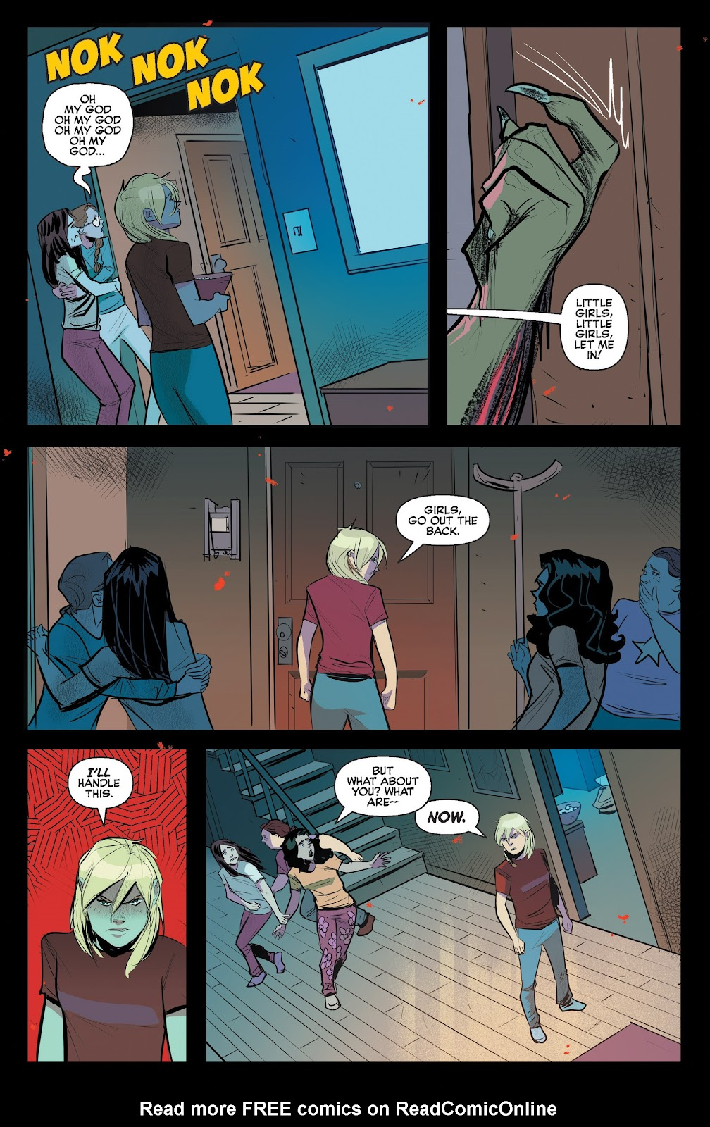 Read online Jughead The Hunger comic -  Issue #13 - 6