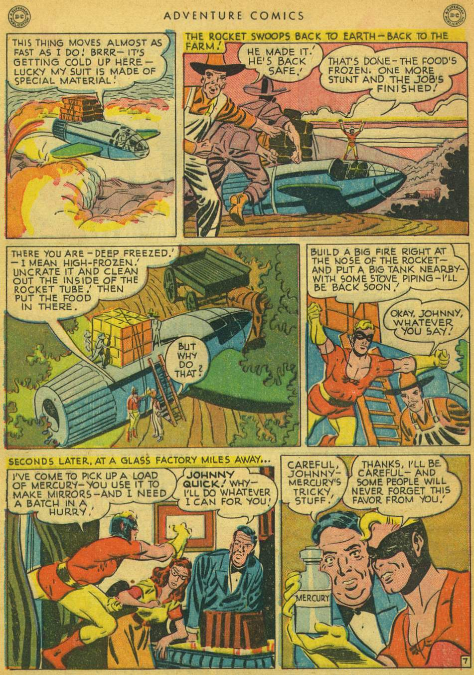 Read online Adventure Comics (1938) comic -  Issue #128 - 44