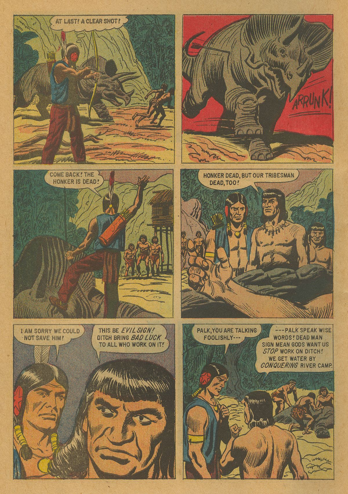 Read online Turok, Son of Stone comic -  Issue #21 - 10