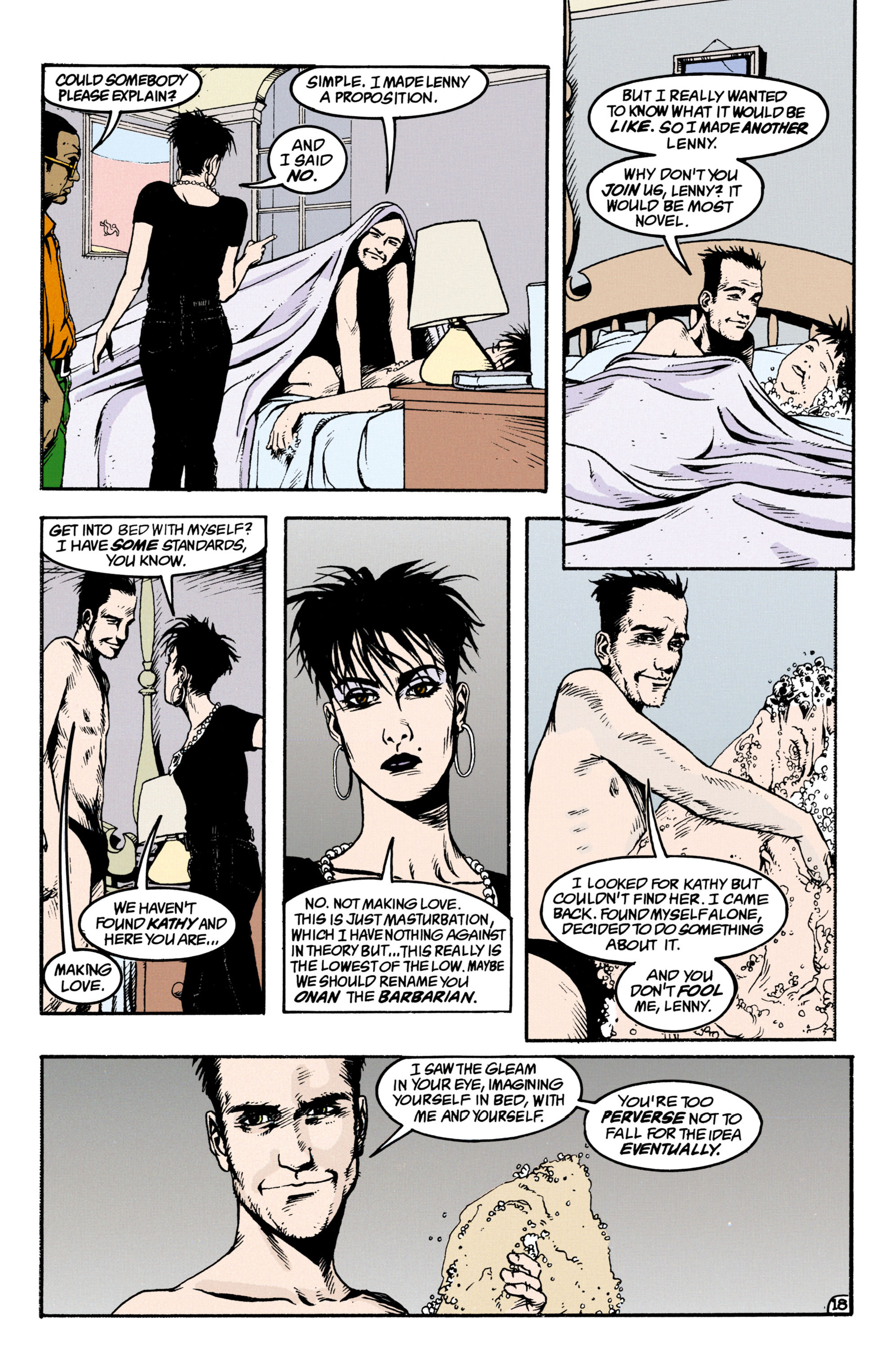 Read online Shade, the Changing Man comic -  Issue #34 - 18