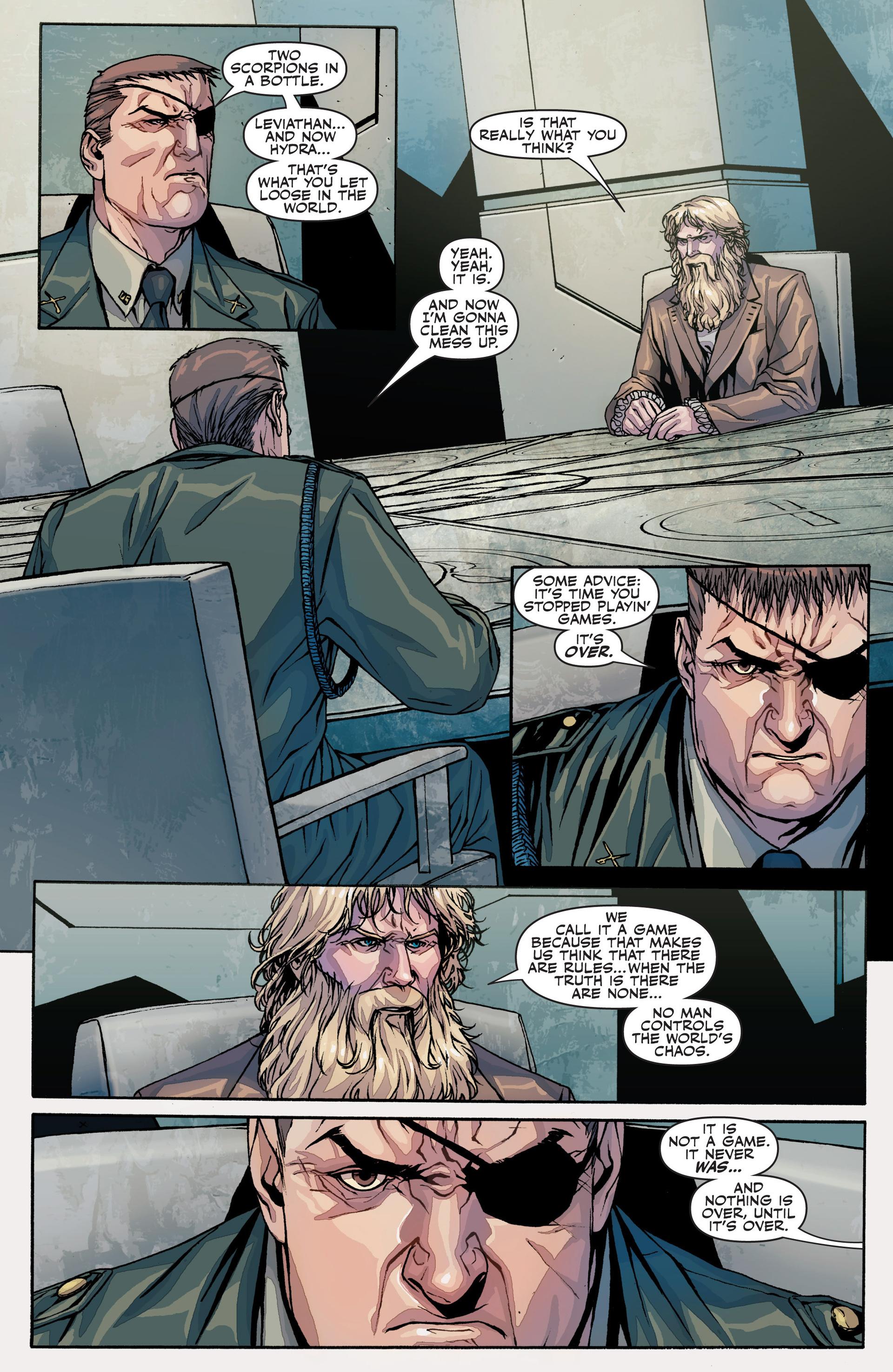Read online Secret Warriors comic -  Issue #25 - 31
