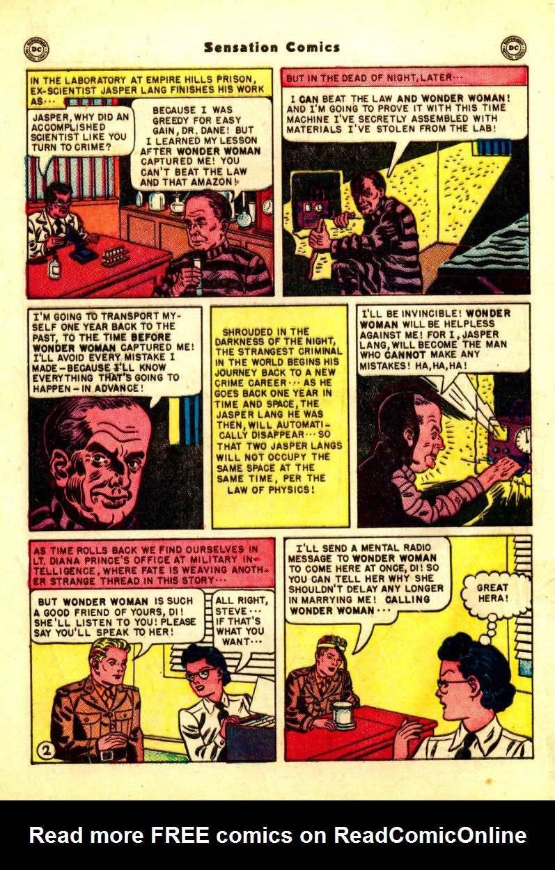 Read online Sensation (Mystery) Comics comic -  Issue #99 - 4