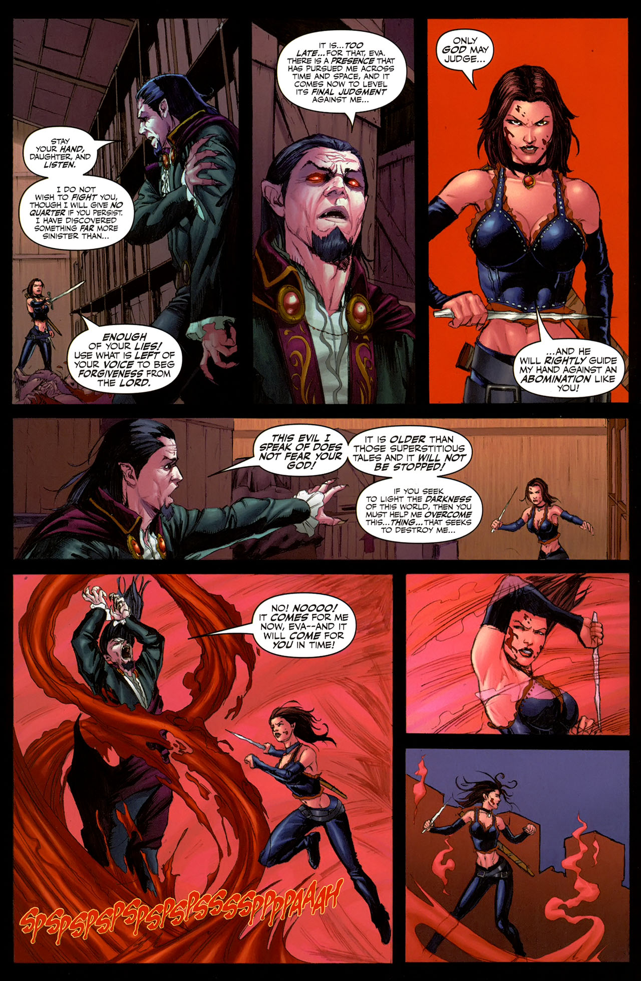 Read online Eva: Daughter of the Dragon comic -  Issue # Full - 20
