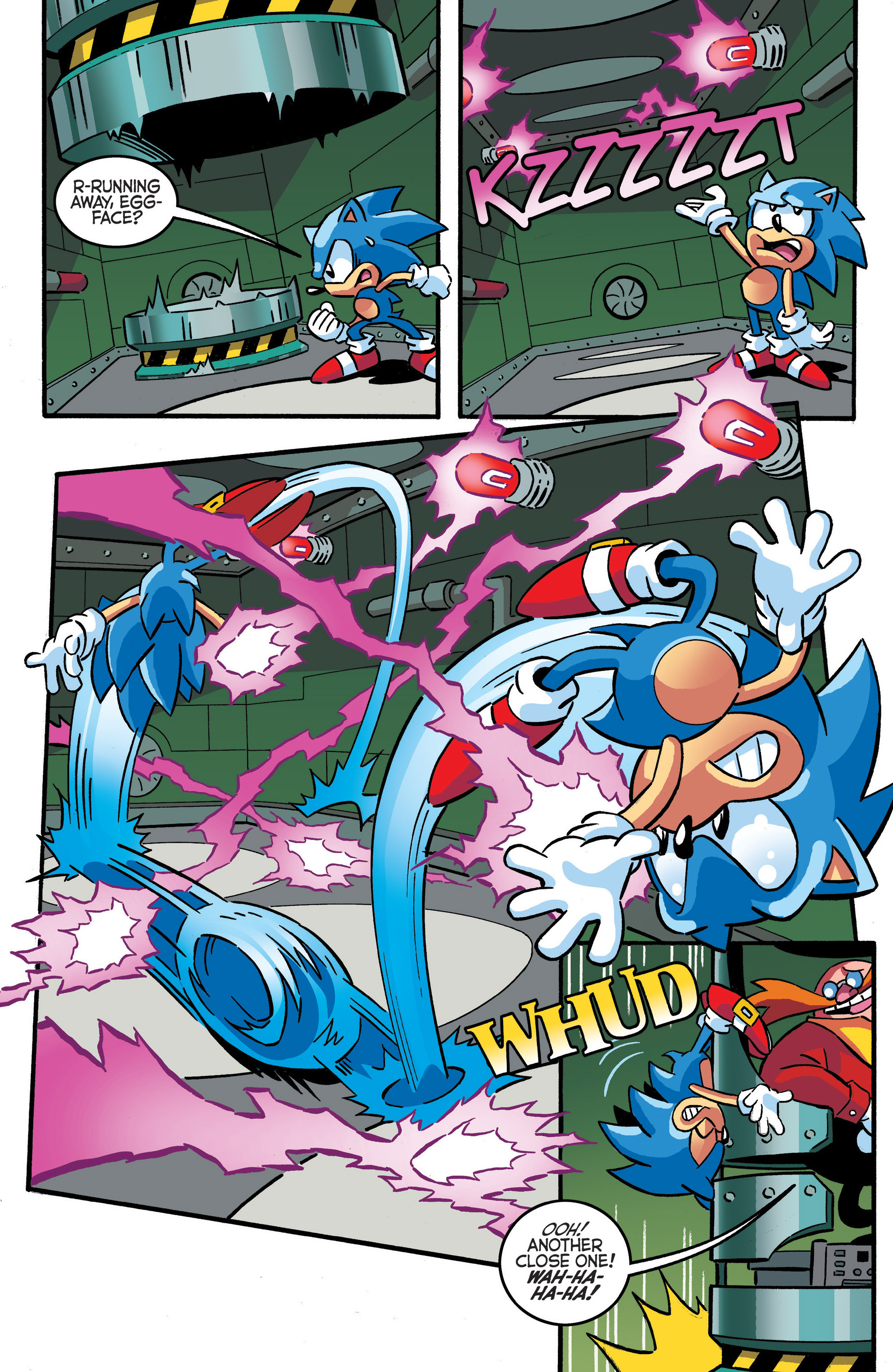 Read online Sonic The Hedgehog comic -  Issue #288 - 12