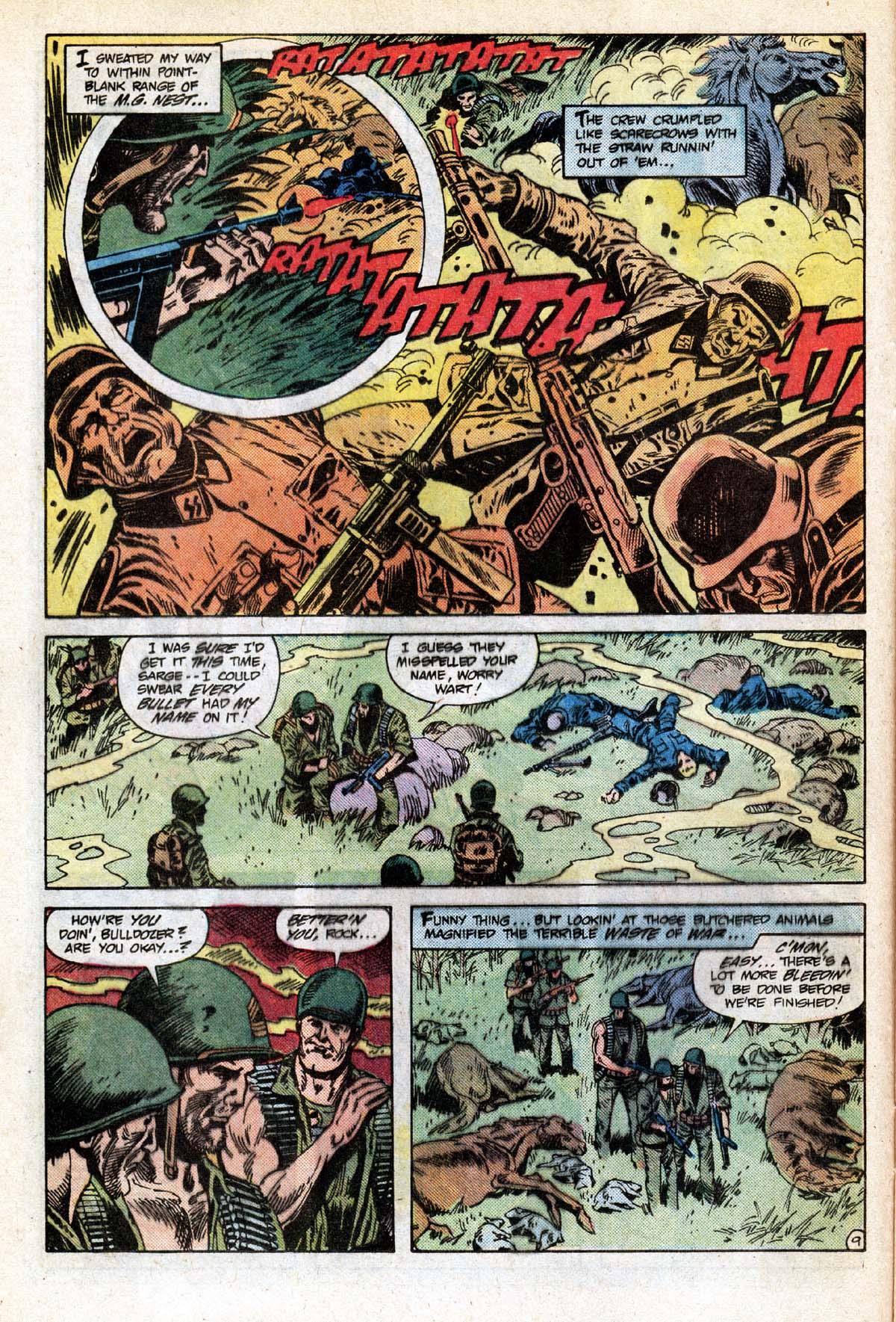 Read online Sgt. Rock comic -  Issue #391 - 10