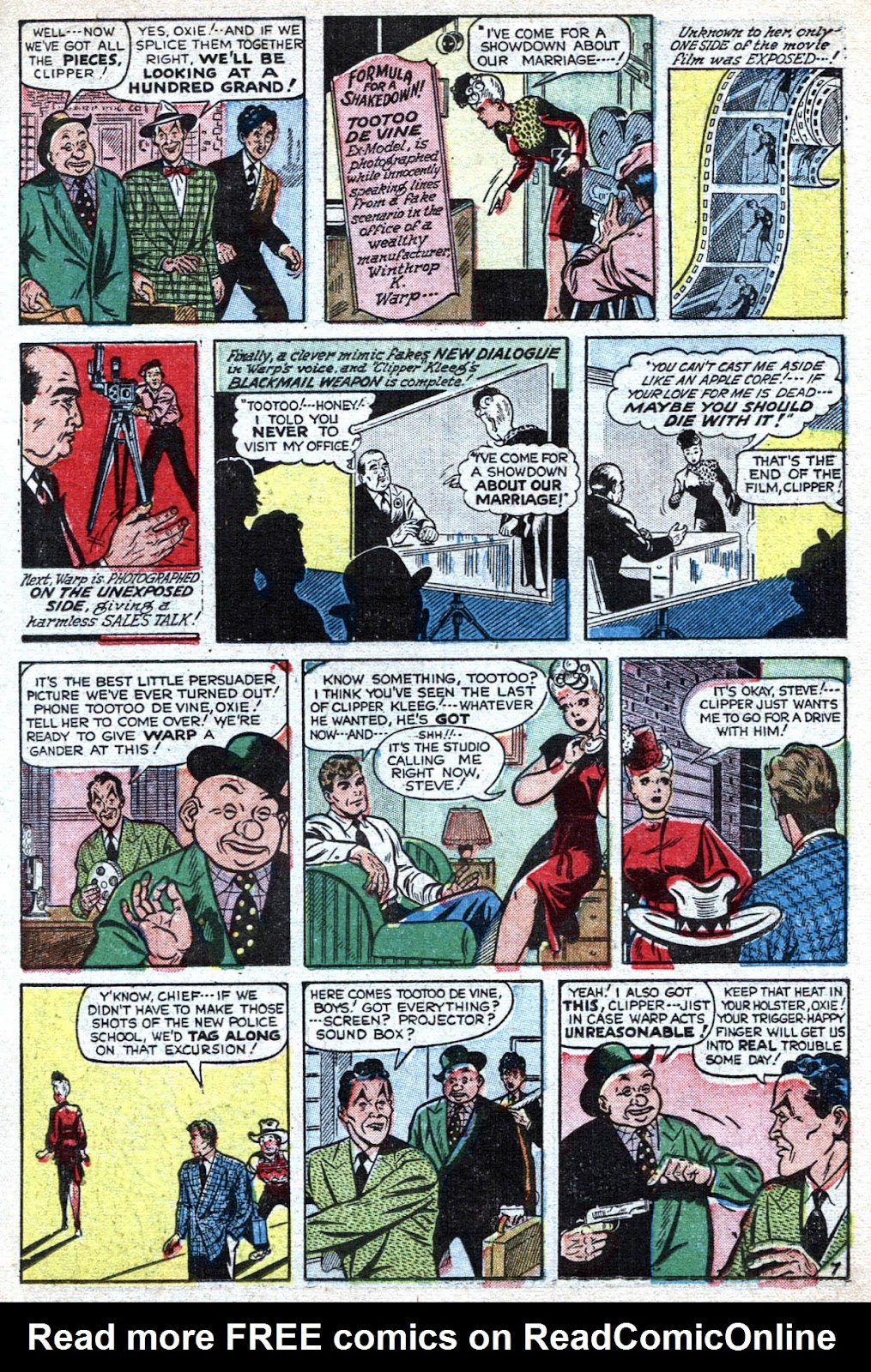 Read online Famous Funnies comic -  Issue #184 - 15
