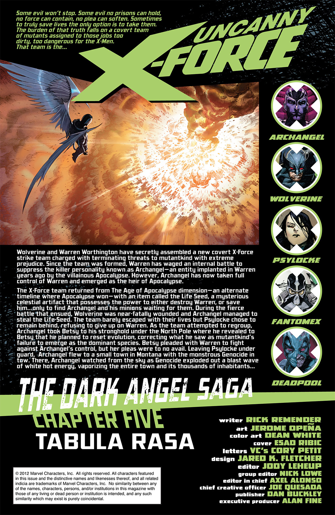 Read online Uncanny X-Force (2010) comic -  Issue #15 - 2