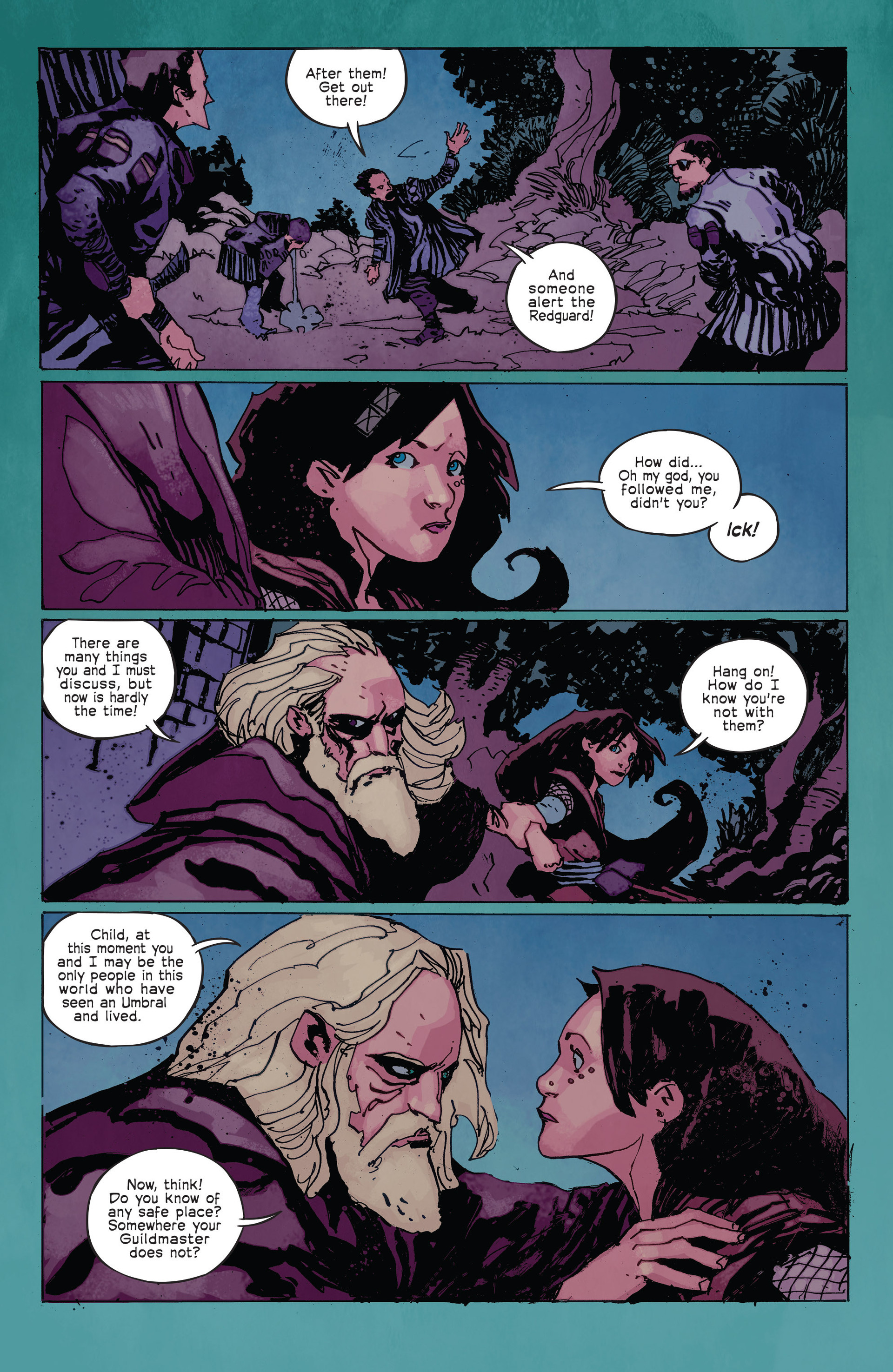 Read online Umbral comic -  Issue #2 - 11