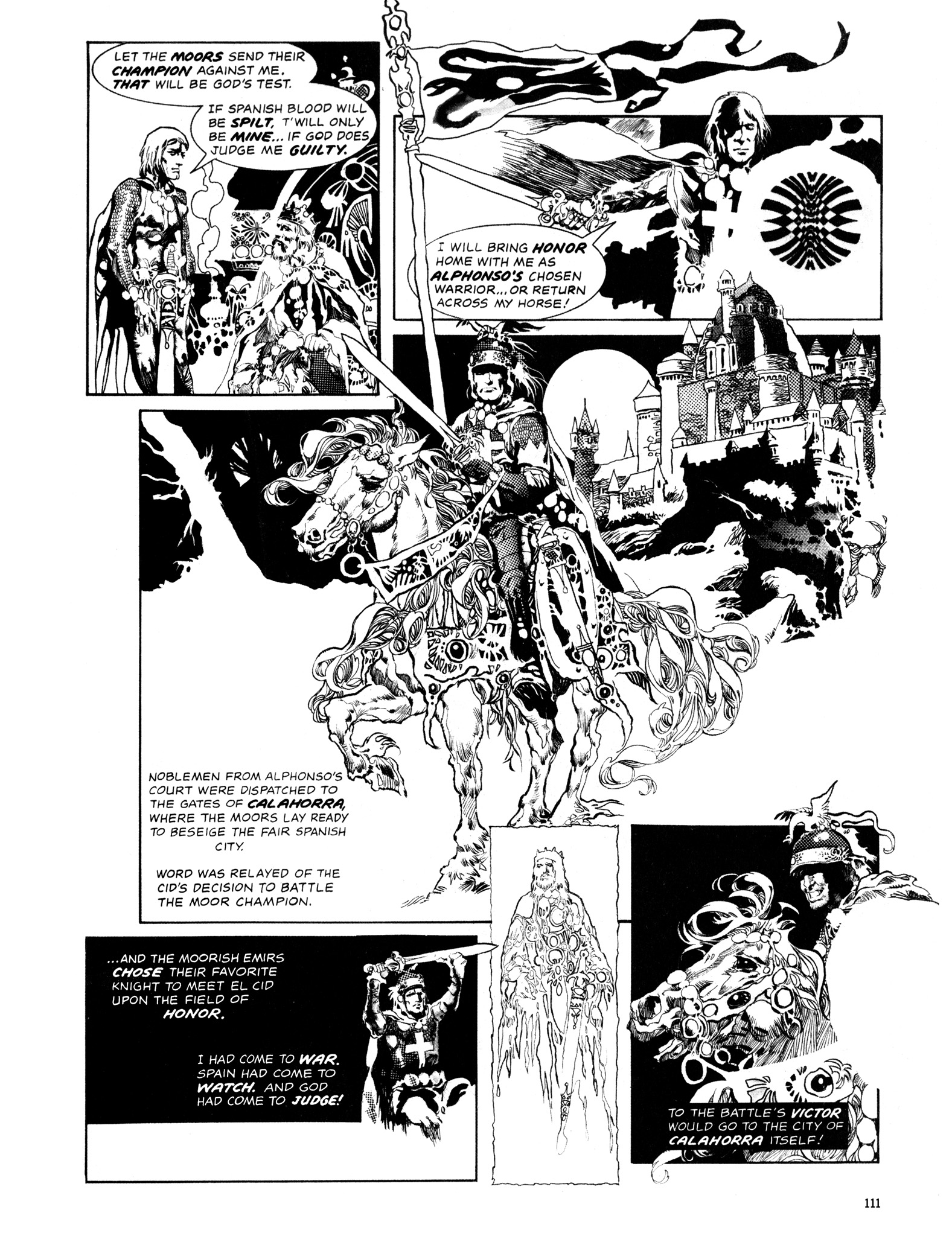 Read online Eerie Archives comic -  Issue # TPB 14 - 112