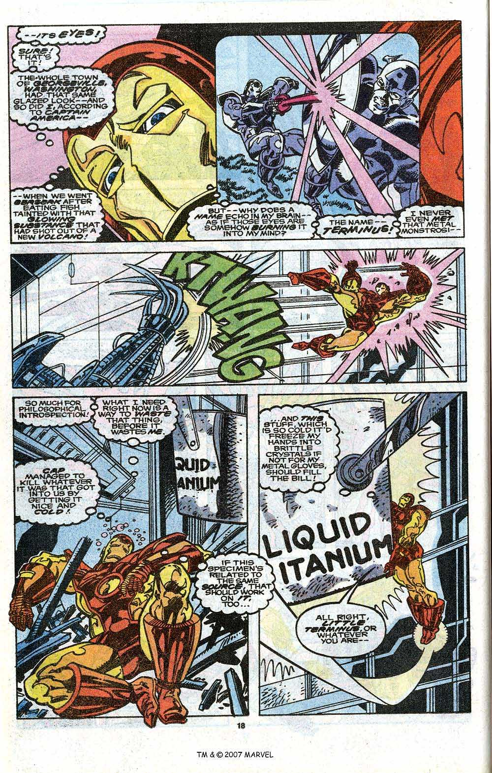 Iron Man Annual issue 11 - Page 20