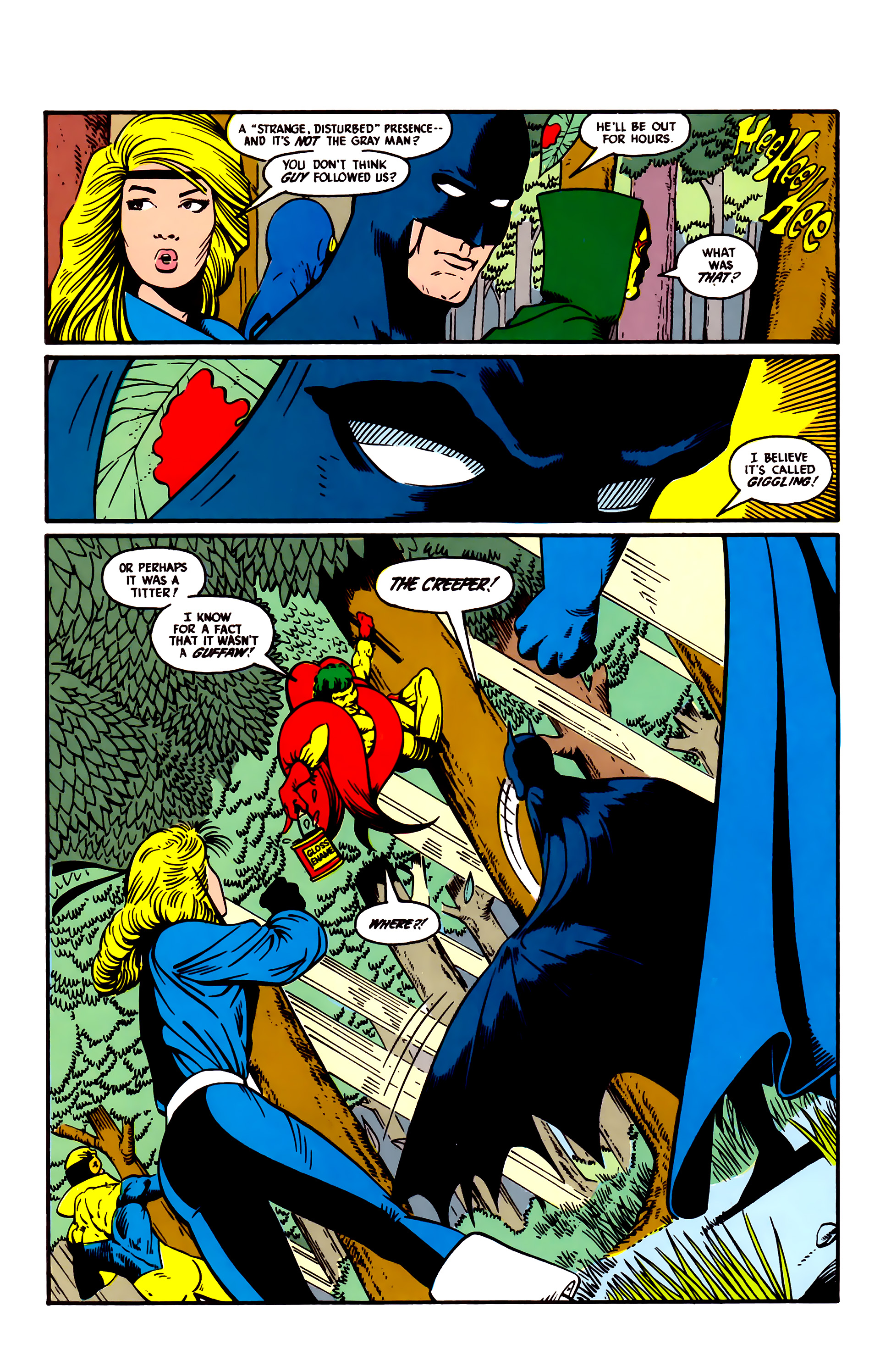 Read online Justice League (1987) comic -  Issue #5 - 21