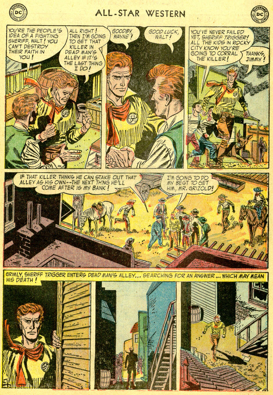 Read online All-Star Western (1951) comic -  Issue #75 - 5