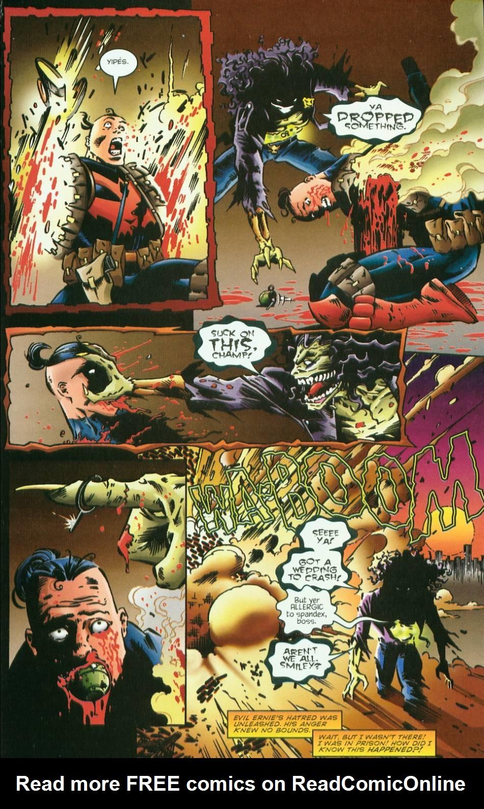 Read online Evil Ernie vs. the Superheroes comic -  Issue #1 - 13