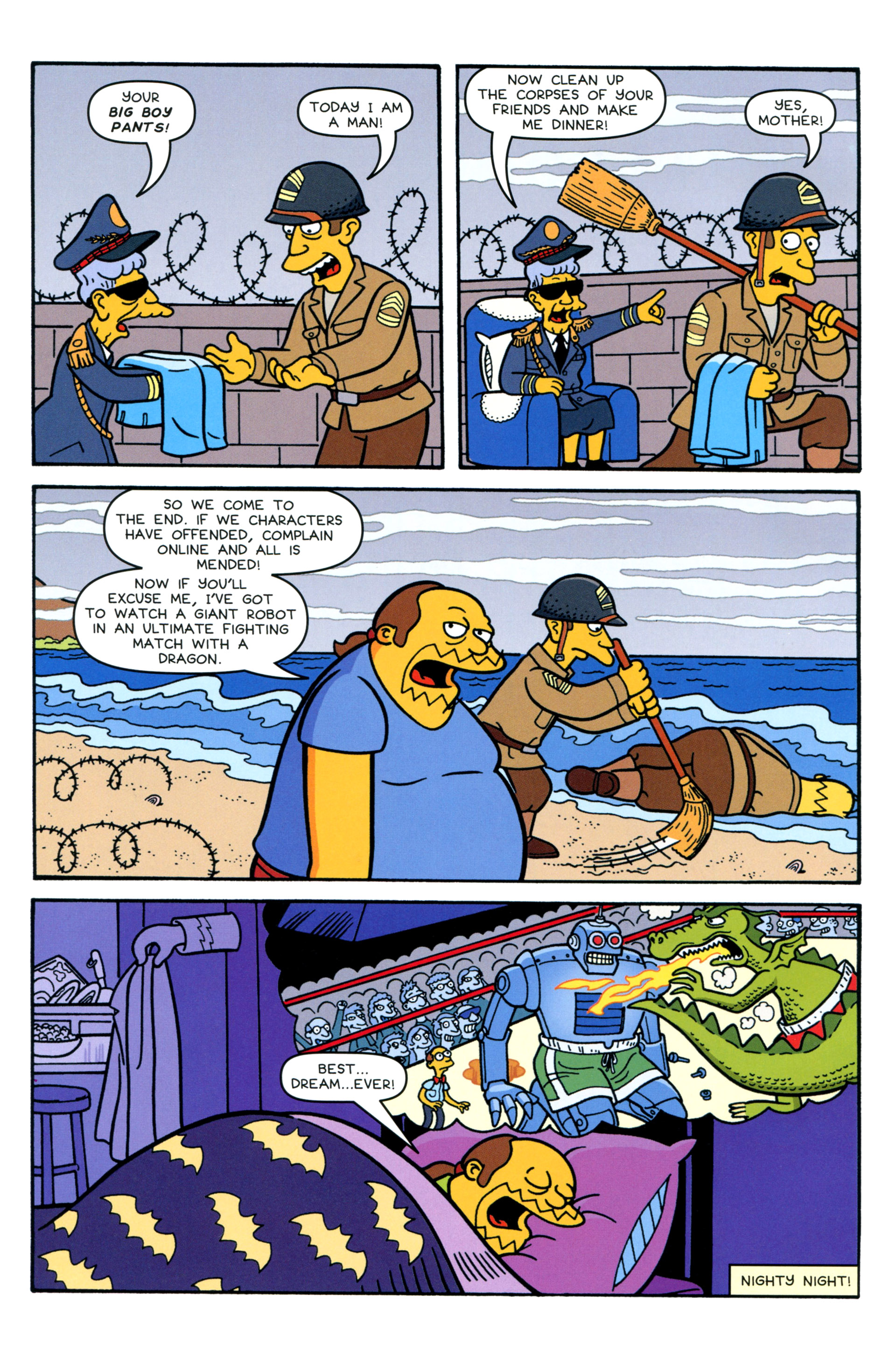 Read online Simpsons Comics comic -  Issue #207 - 24