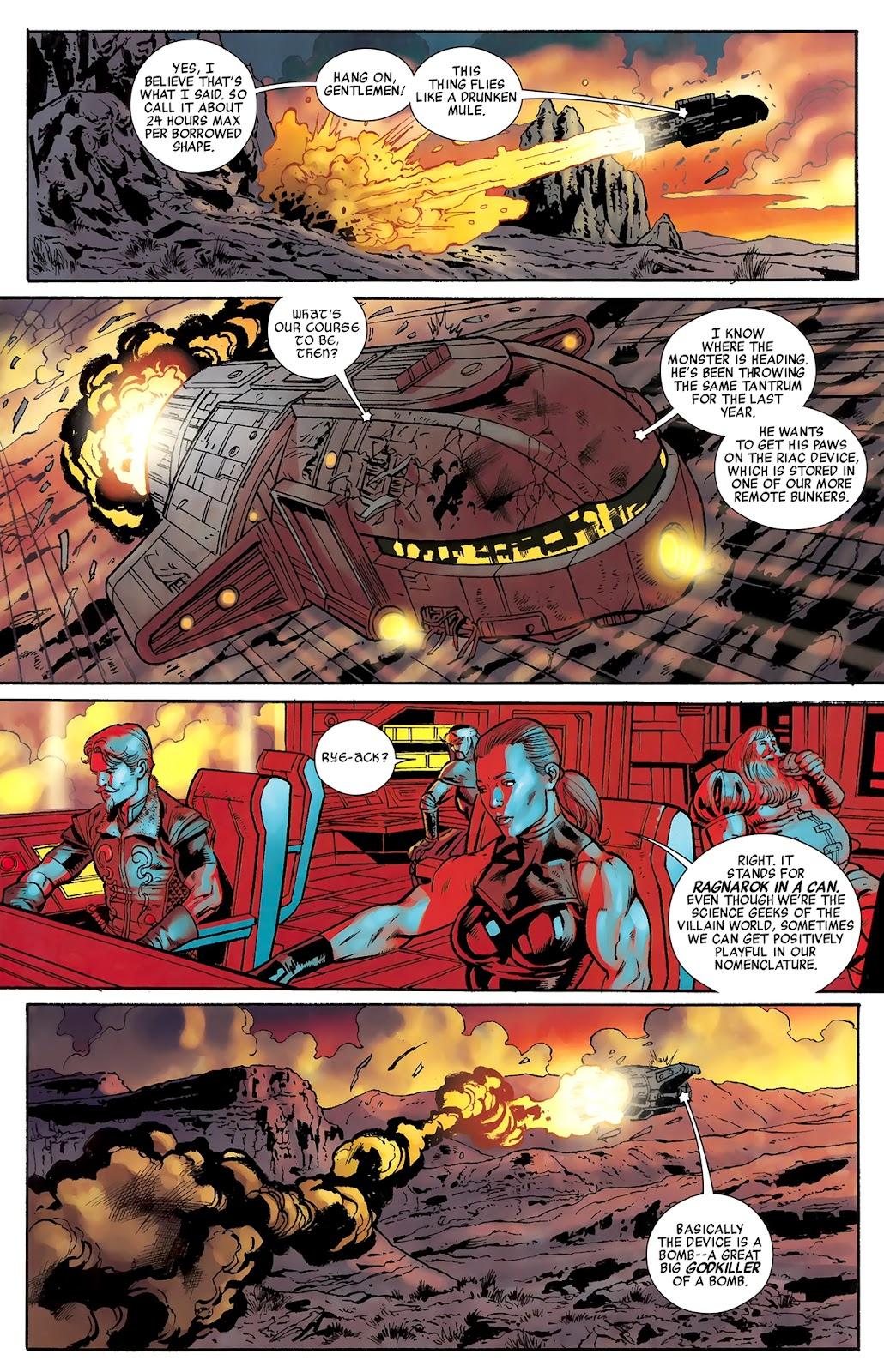 Warriors Three Issue #3 #3 - English 15