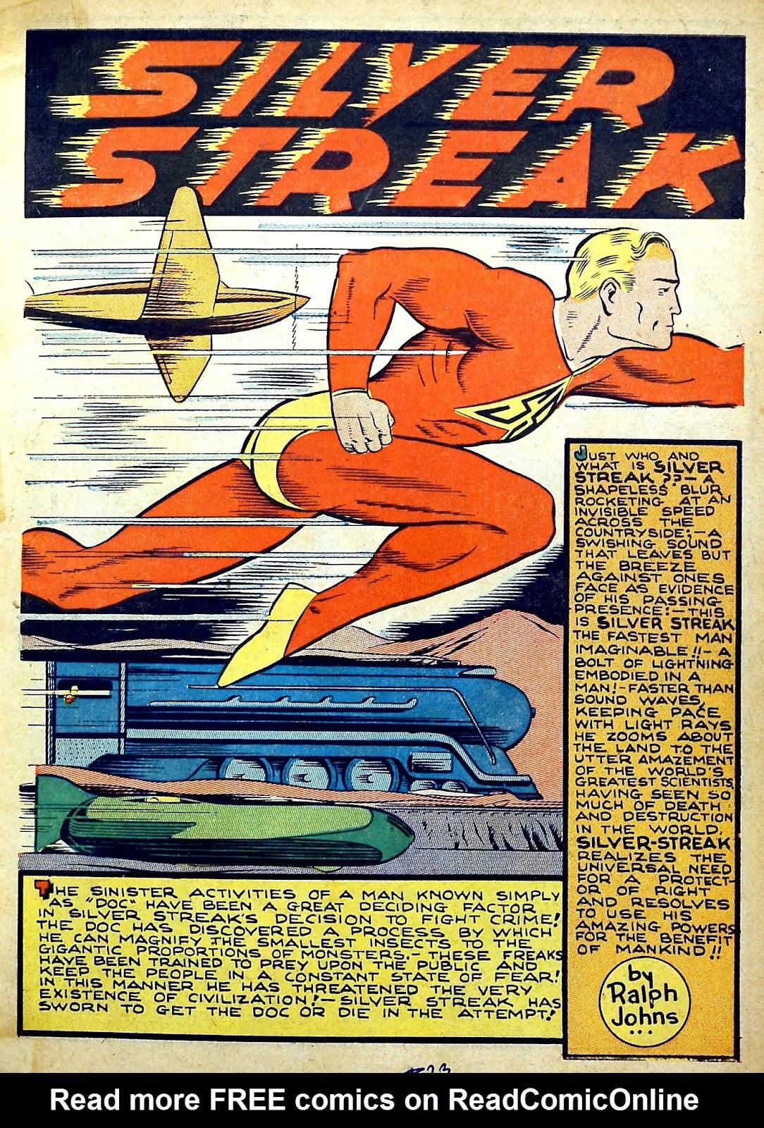 Read online Silver Streak Comics comic -  Issue #22 - 3
