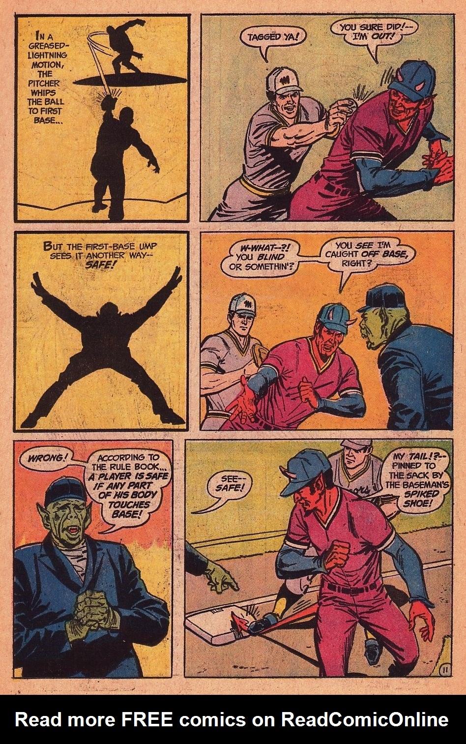 Read online Strange Sports Stories (1973) comic -  Issue #1 - 12