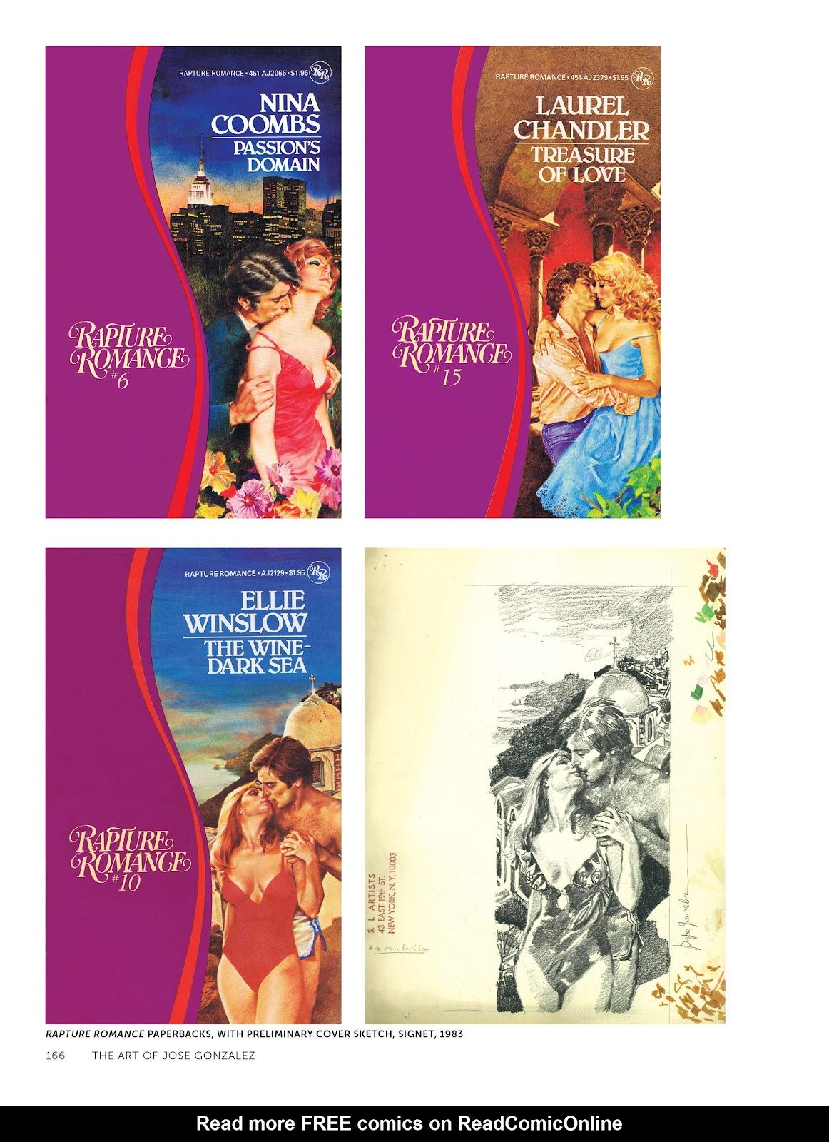 Read online The Art of Jose Gonzalez comic -  Issue # TPB (Part 2) - 68