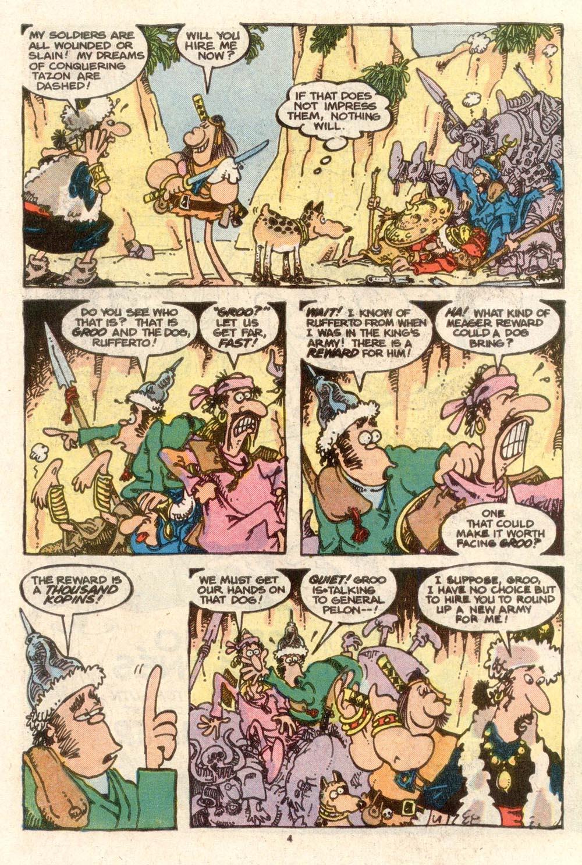Read online Sergio Aragonés Groo the Wanderer comic -  Issue #38 - 4