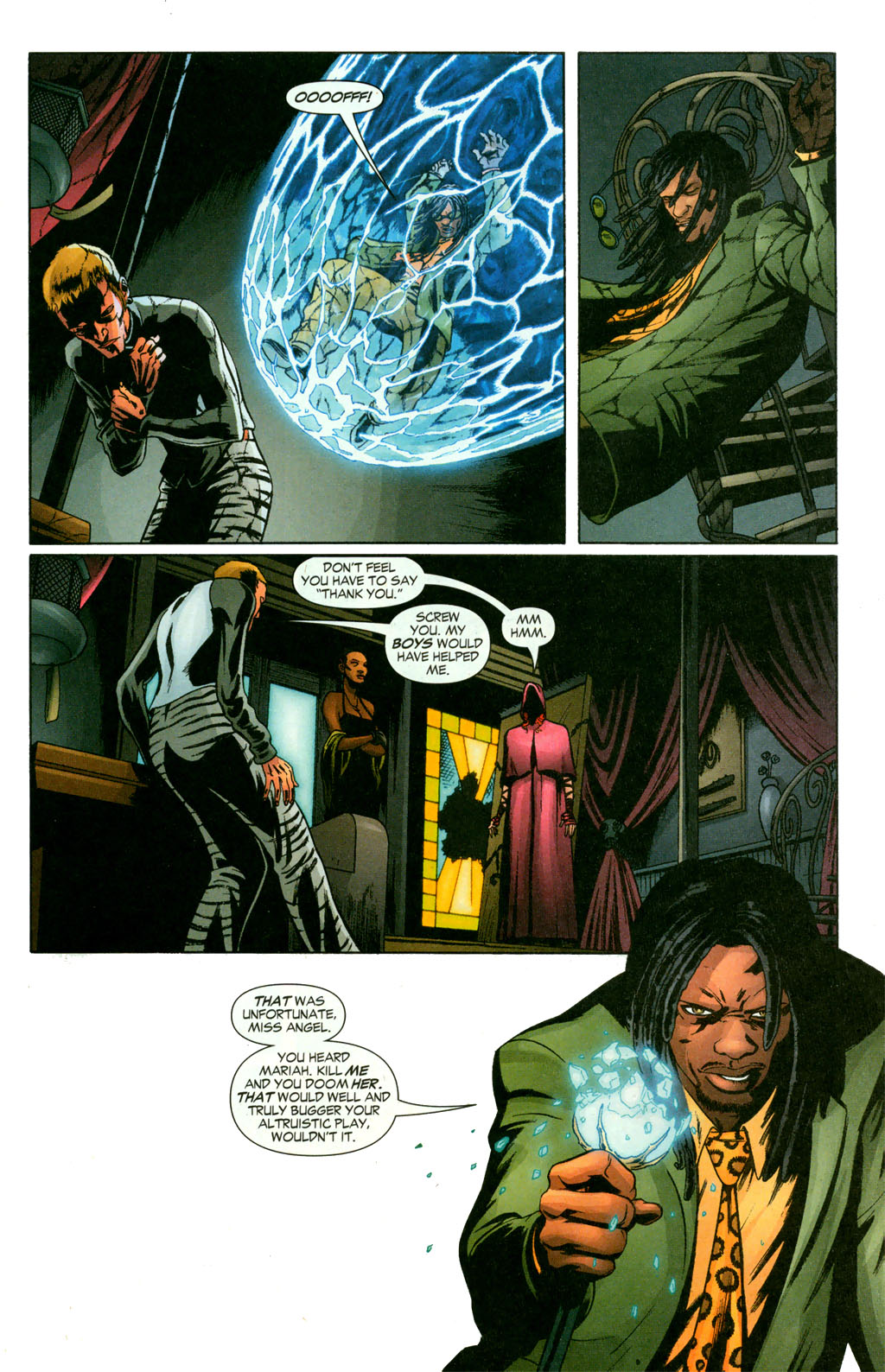 Read online Fallen Angel (2003) comic -  Issue #11 - 9