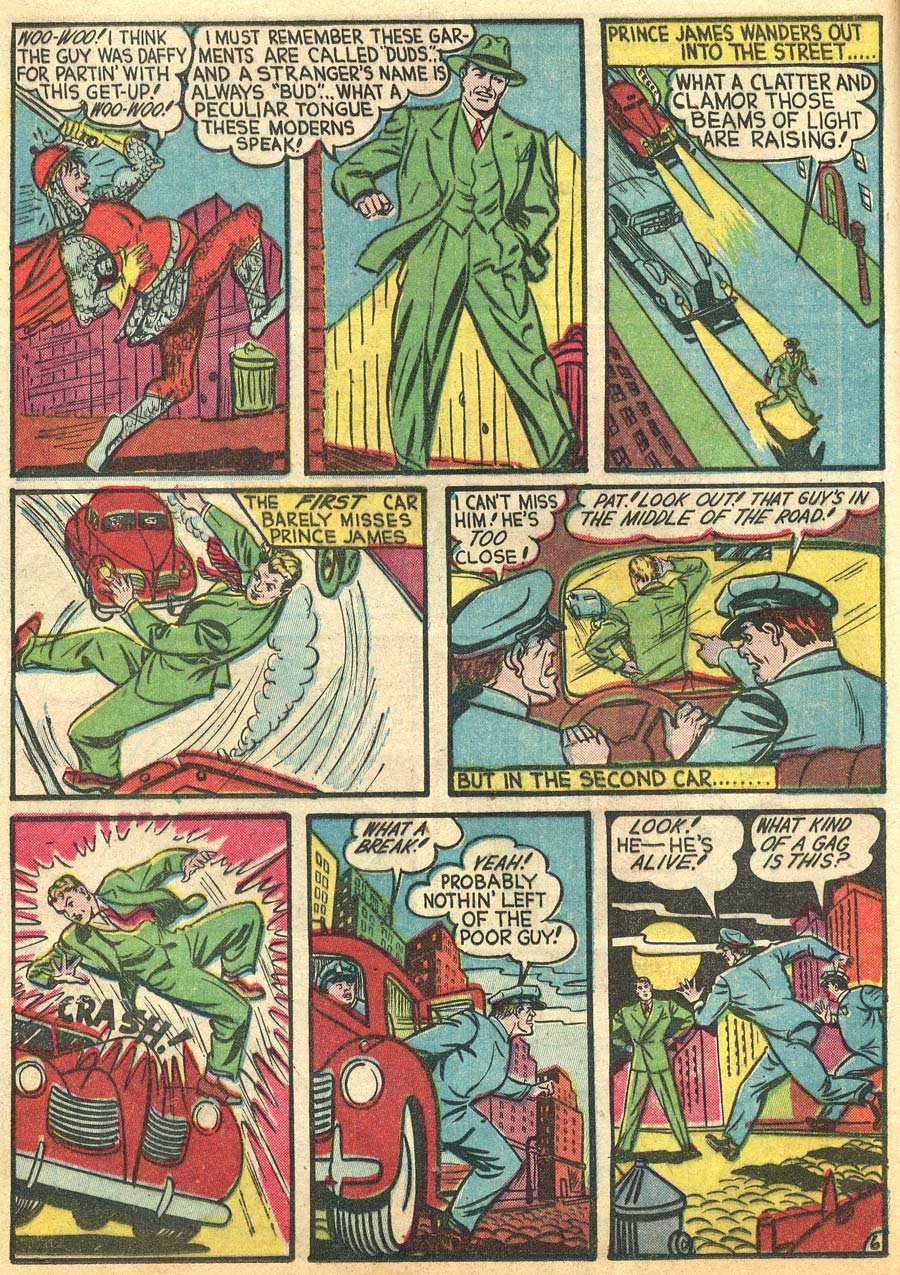 Blue Ribbon Comics (1939) issue 9 - Page 8