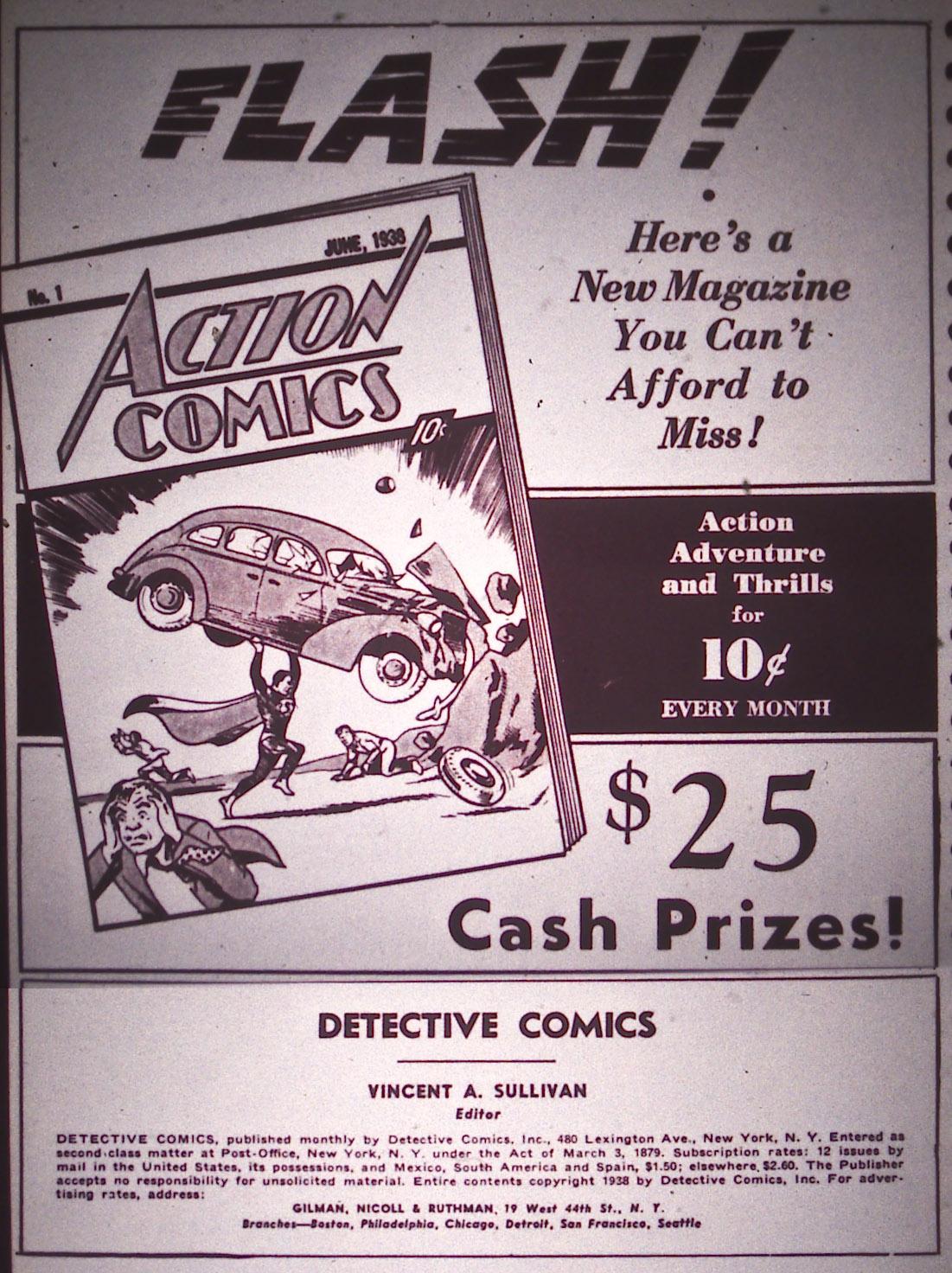 Read online Detective Comics (1937) comic -  Issue #16 - 2