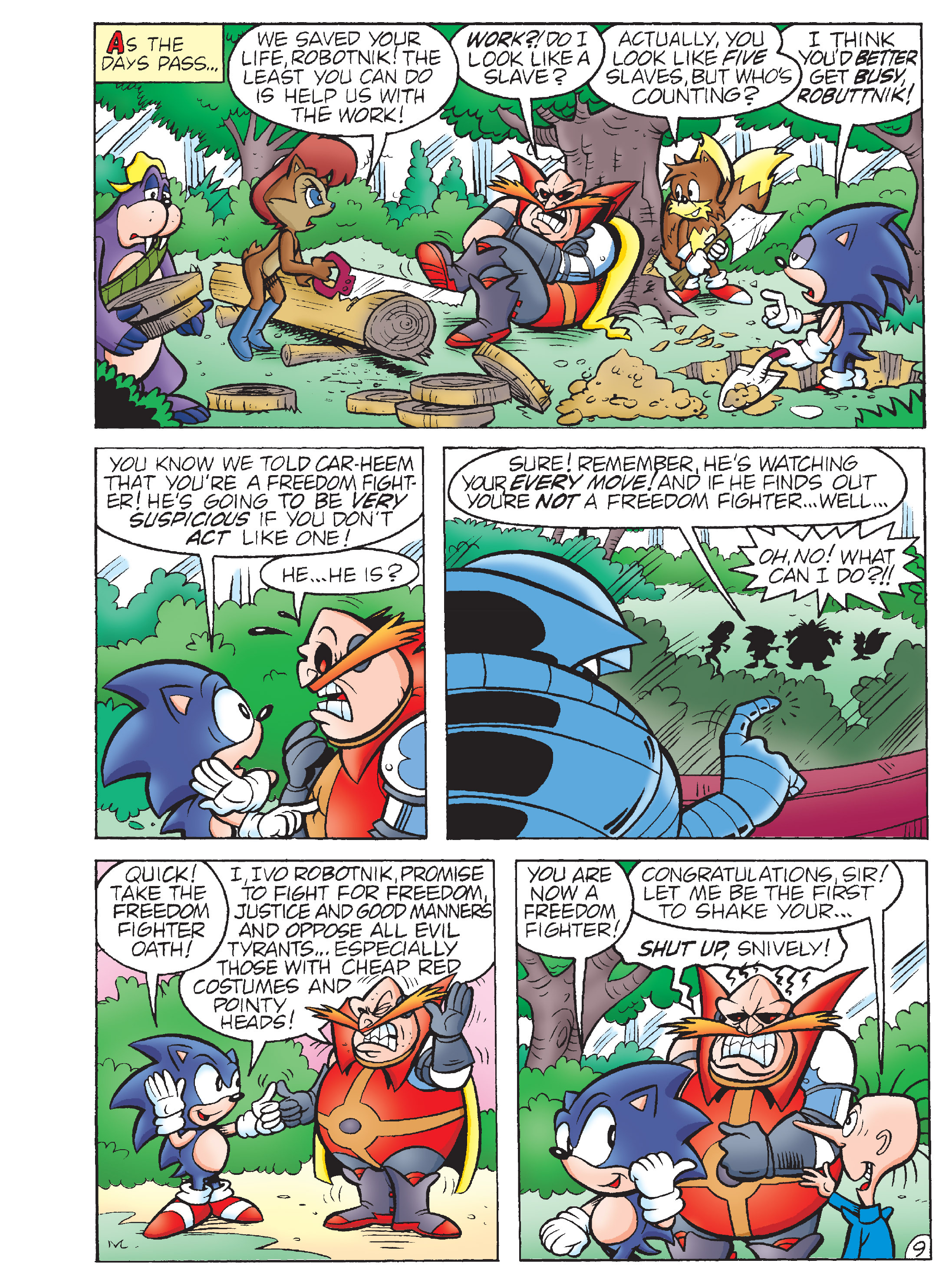 Read online Sonic Super Digest comic -  Issue #7 - 107