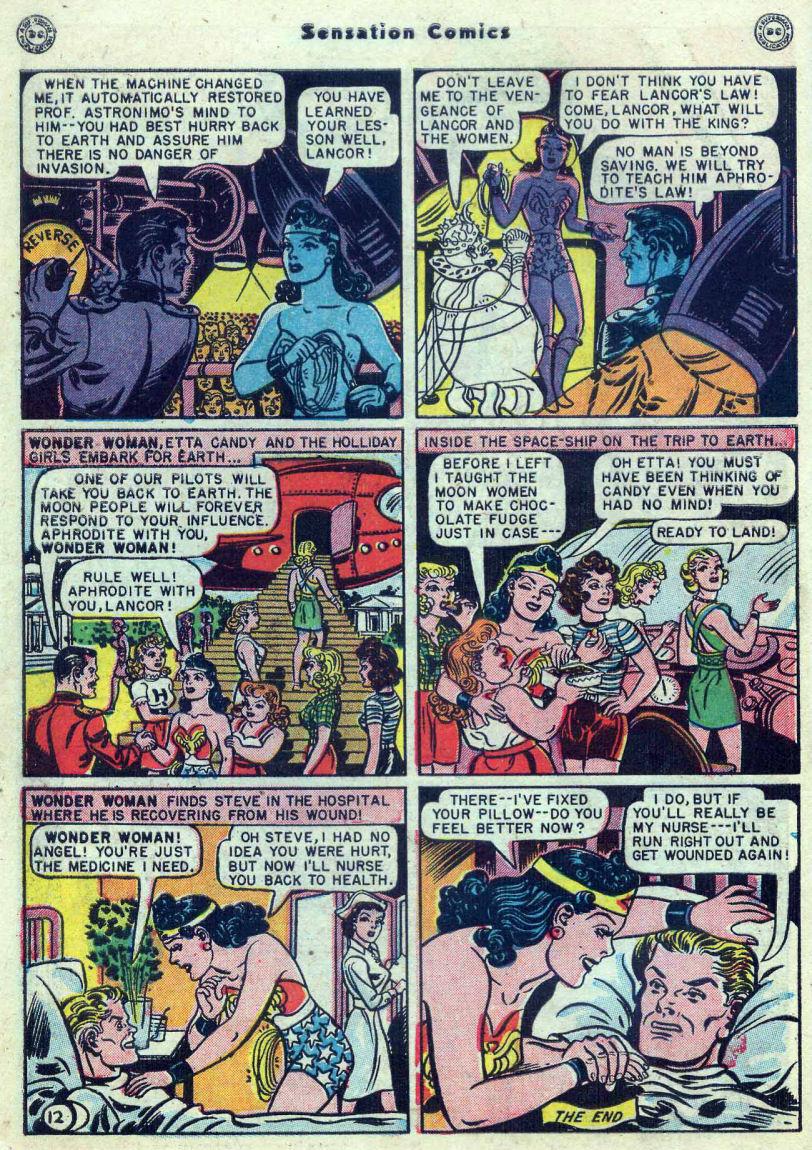 Read online Sensation (Mystery) Comics comic -  Issue #82 - 14