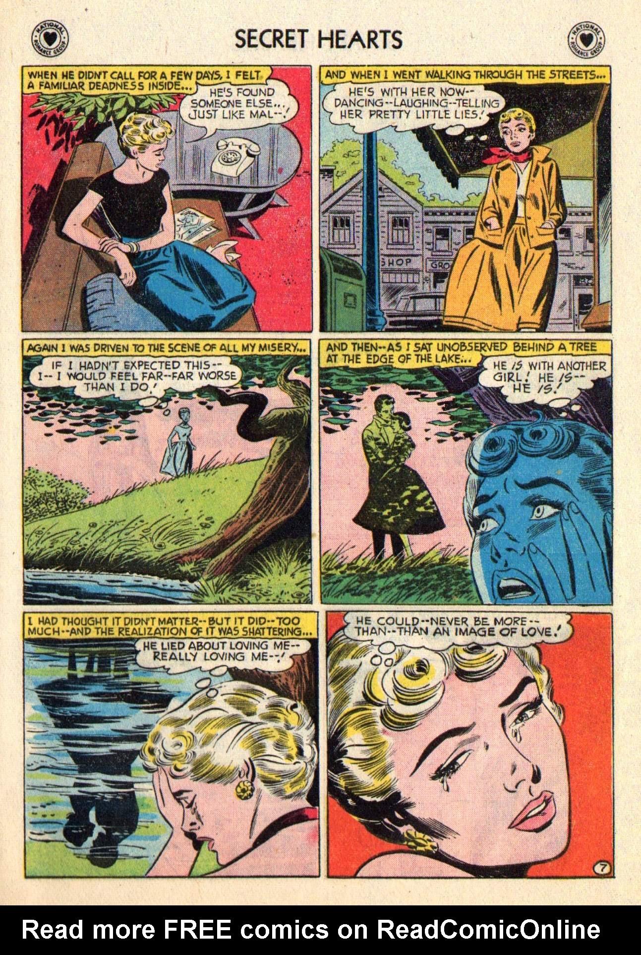 Read online Secret Hearts comic -  Issue #48 - 33