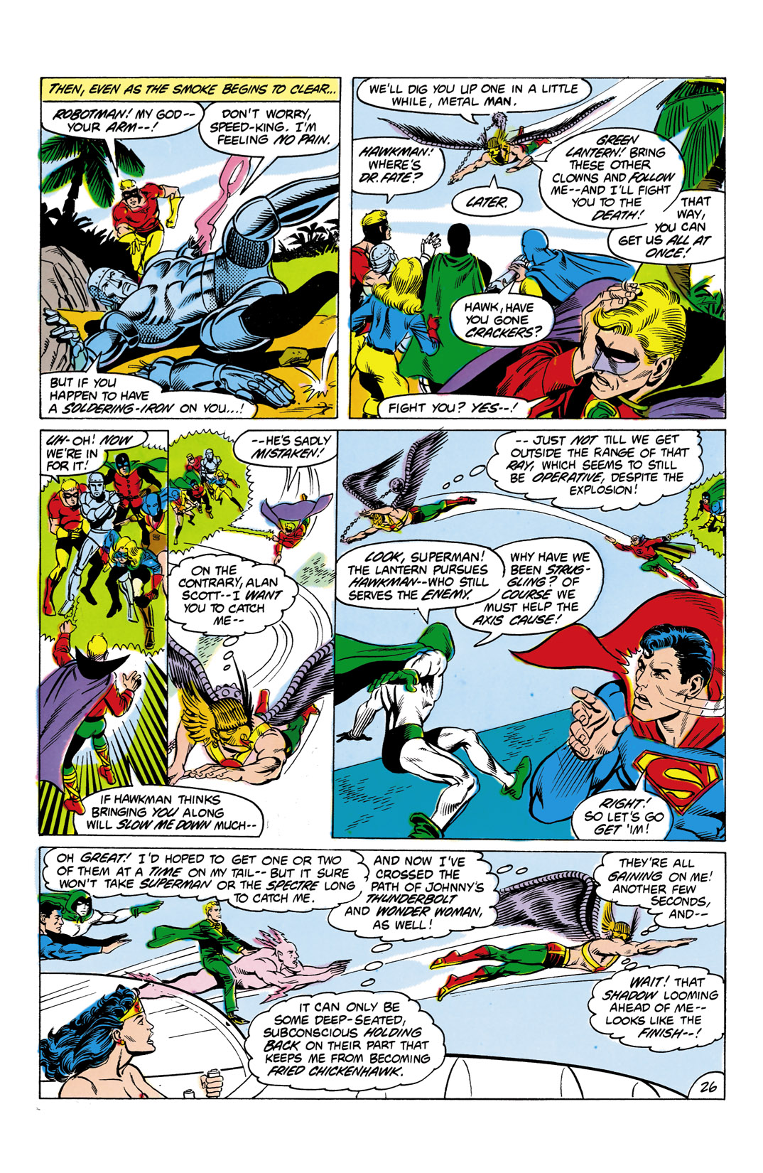 Read online All-Star Squadron comic -  Issue #4 - 27
