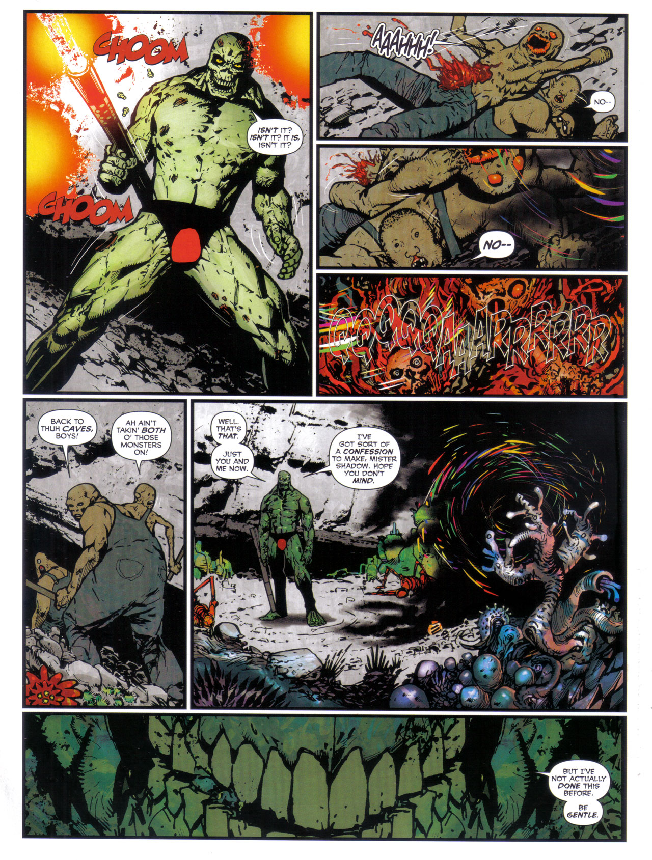 Read online 2000 AD comic -  Issue #1746 - 34
