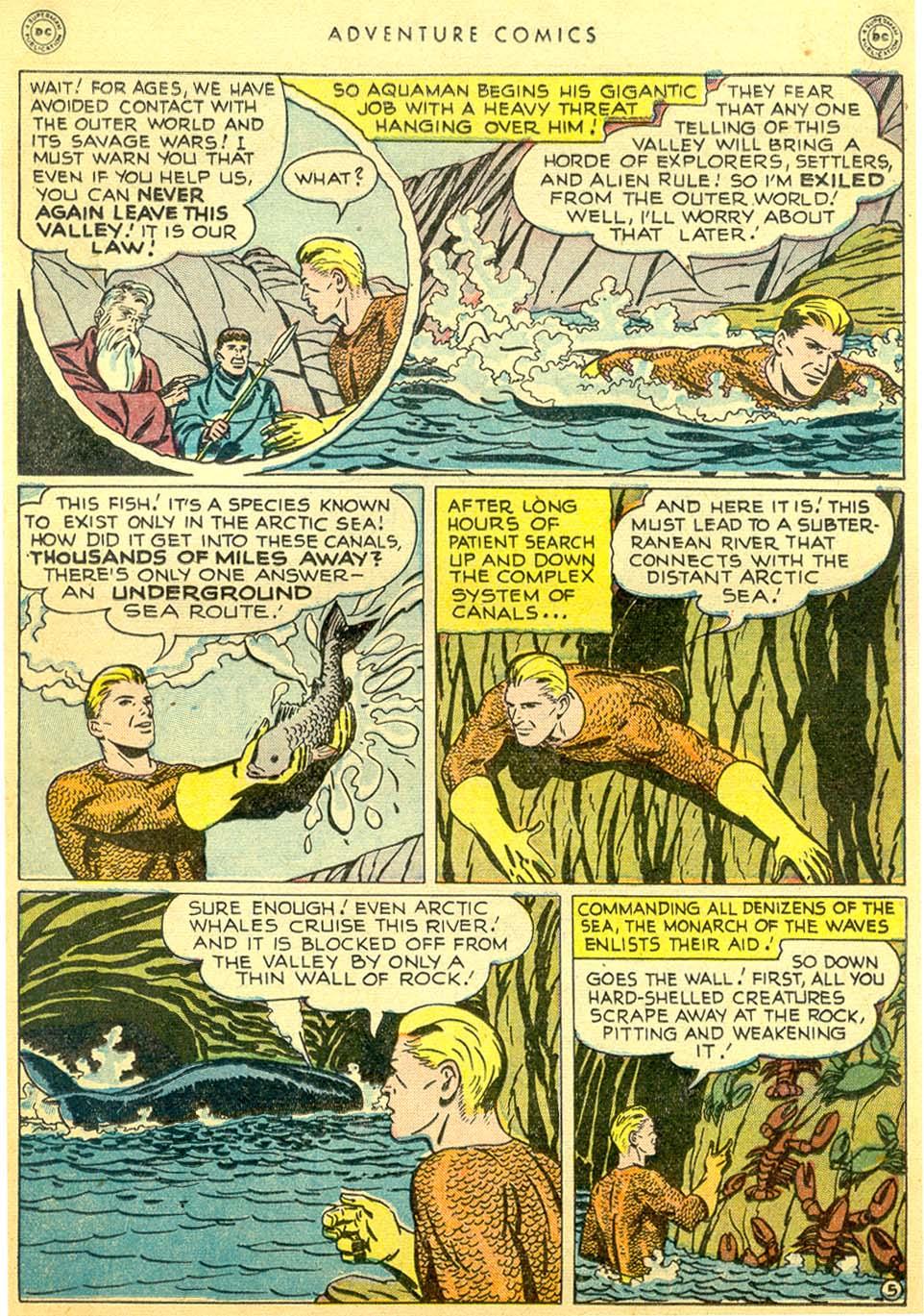 Read online Adventure Comics (1938) comic -  Issue #144 - 31